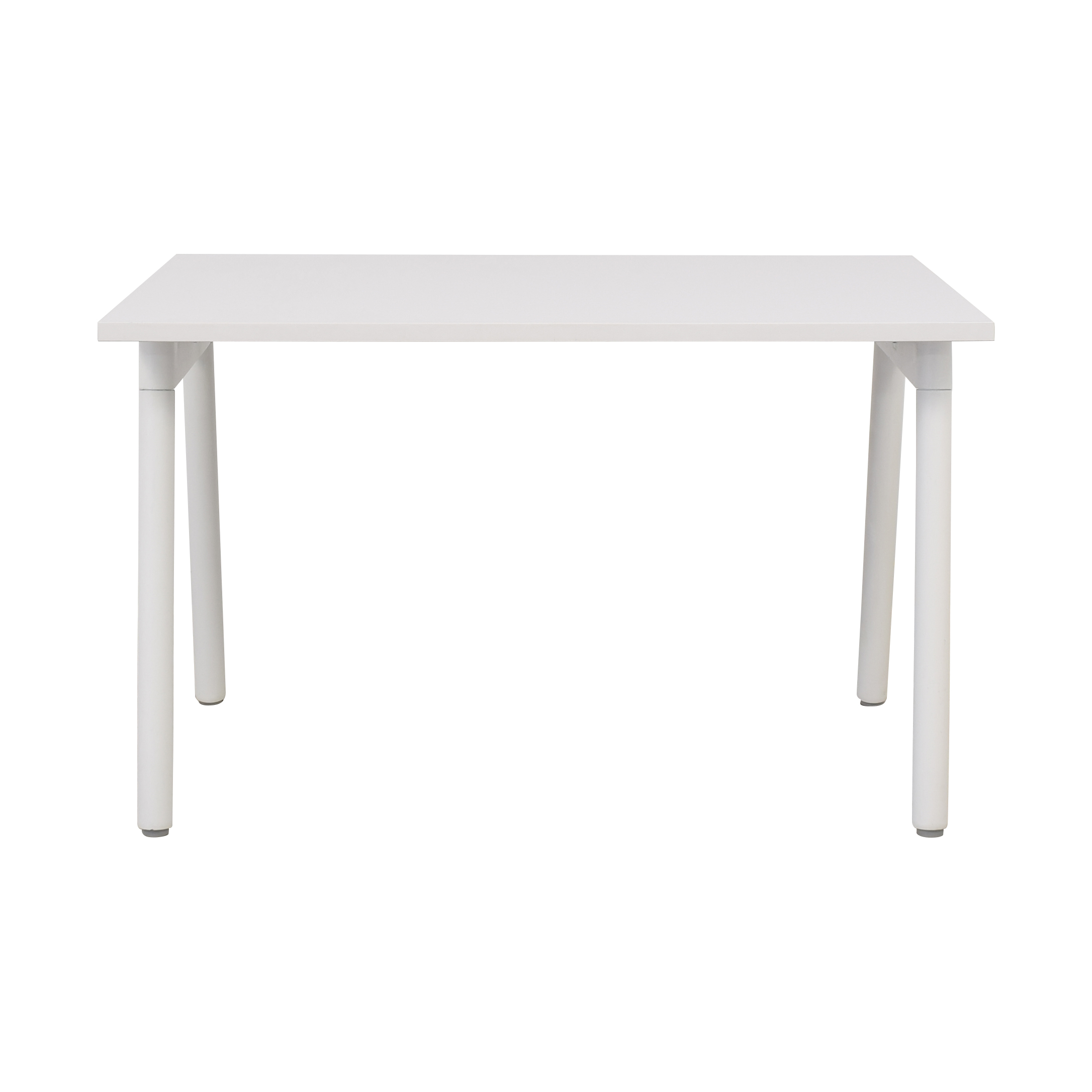 Poppin Poppin Series A Single Desk white