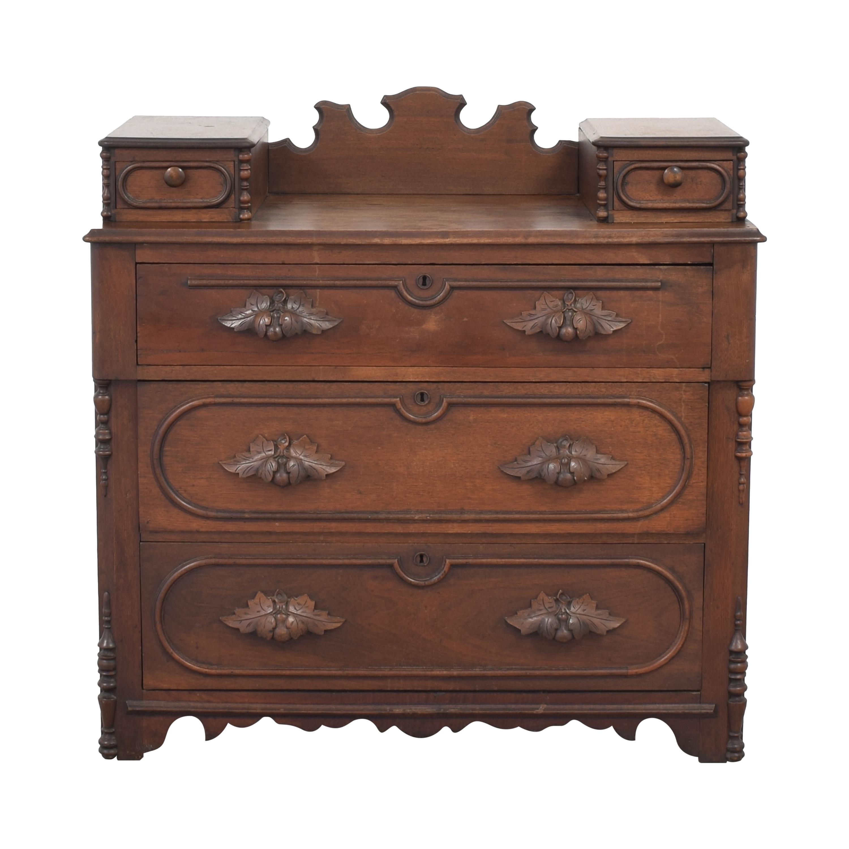 shop  Vintage Dresser with Oak-Leaf Handles online