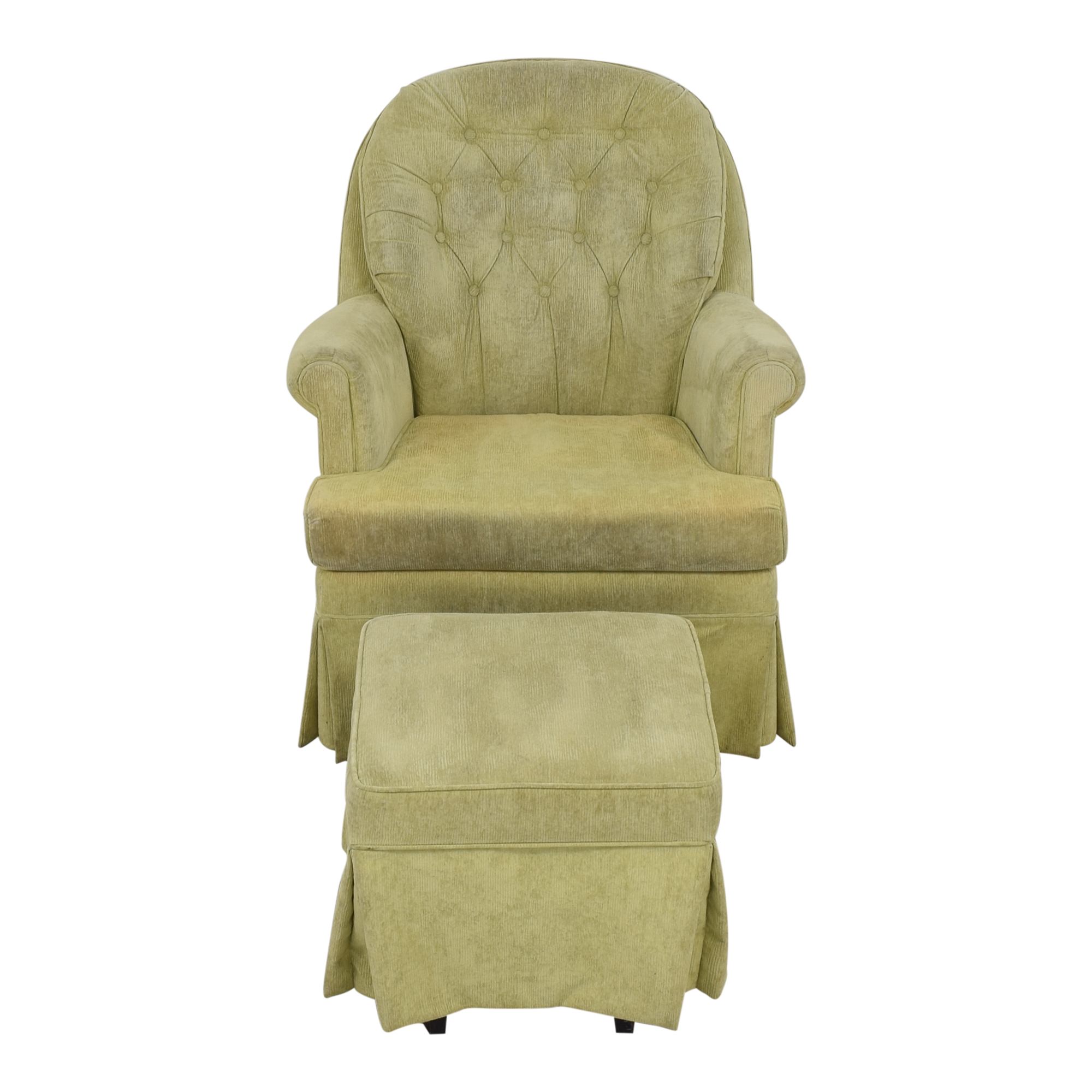 Babyletto Babyletto Nursery Glider and Gliding Ottoman Chairs