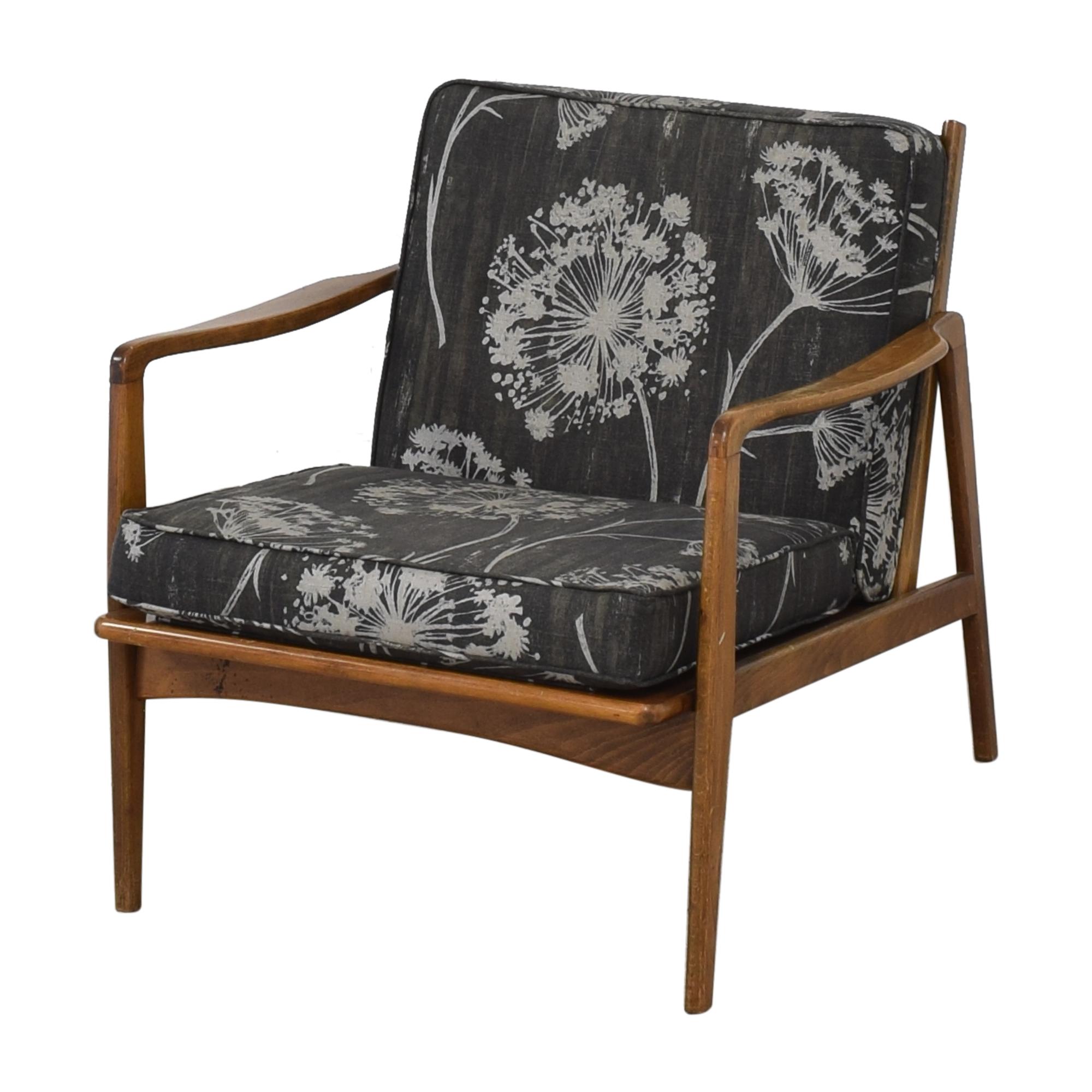 Vintage Mid Century Danish Accent Chair