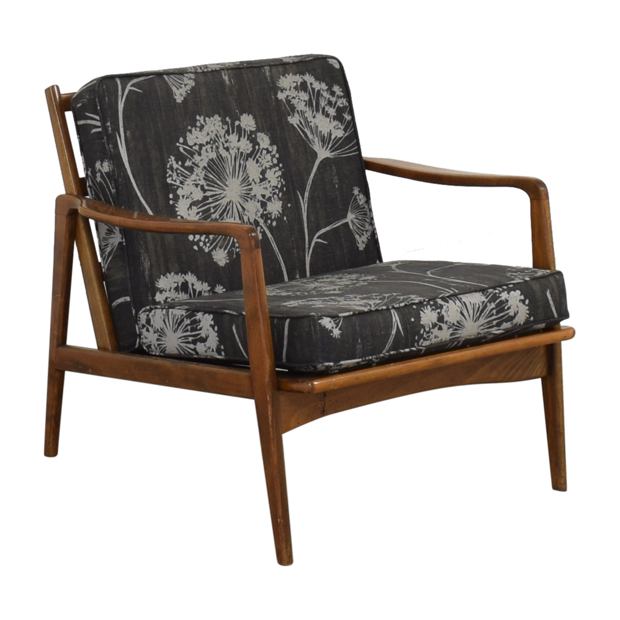 buy Vintage Mid Century Danish Accent Chair  Accent Chairs