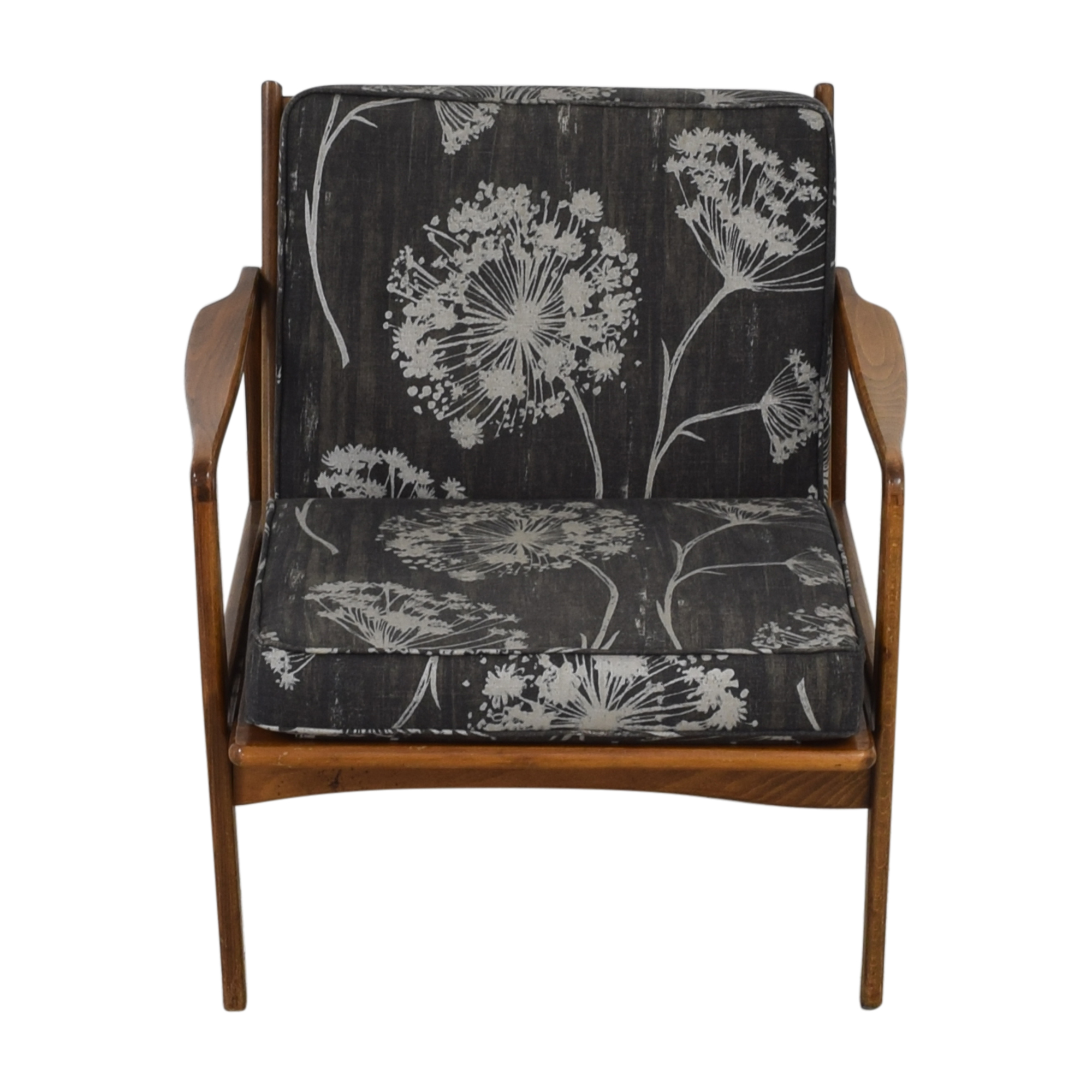 shop Vintage Mid Century Danish Accent Chair  Chairs