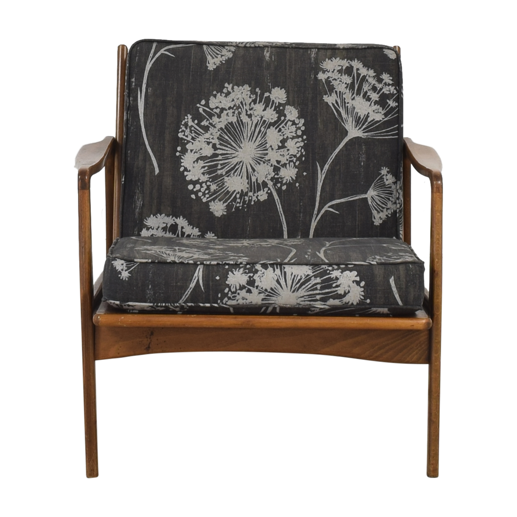 shop Vintage Mid Century Danish Accent Chair  Accent Chairs
