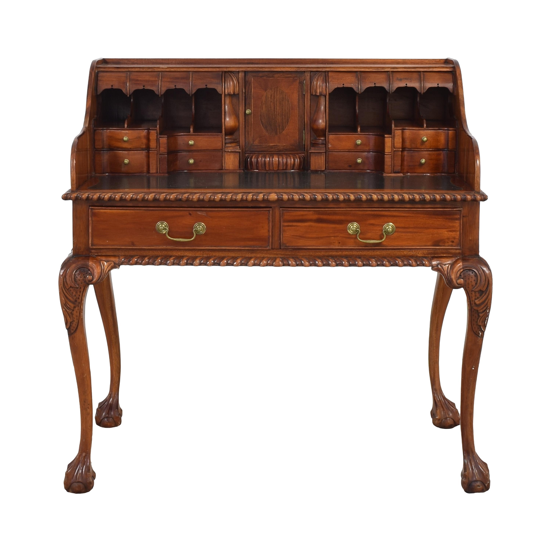 L' Escritoire Hardwood Secretary Desk Tables