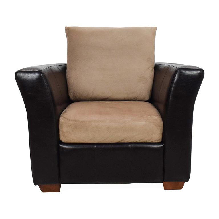 Jennifer Convertibles Jennifer Convertibles Leather Chair discount