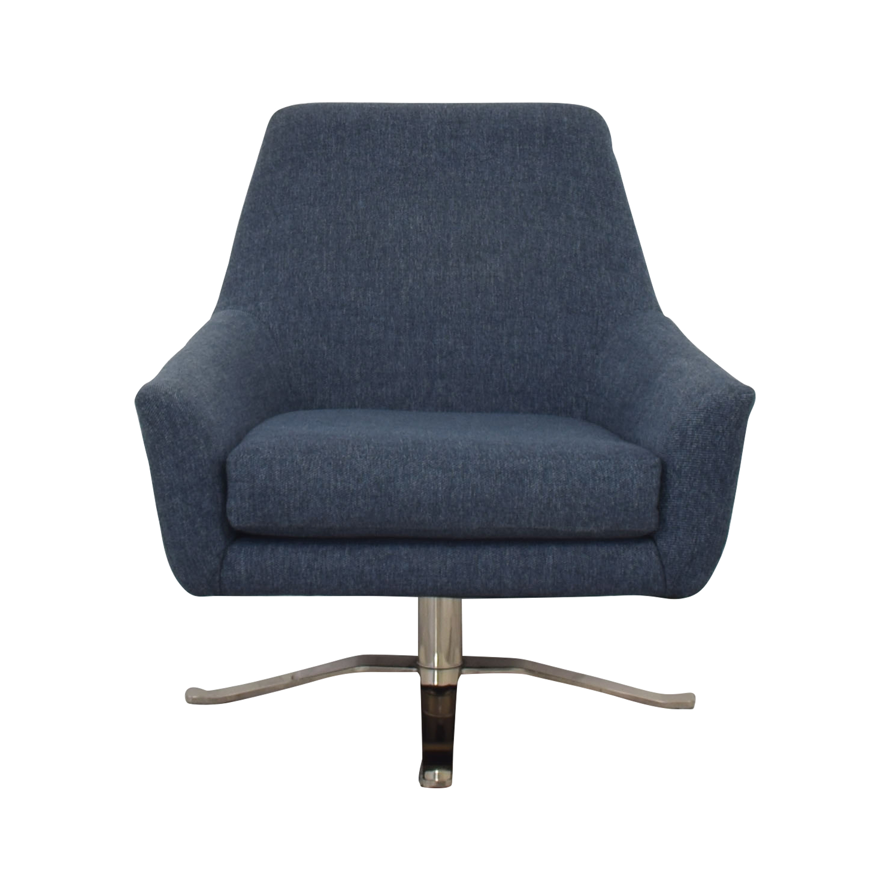 West Elm West Elm Lucas Swivel Base Chair discount