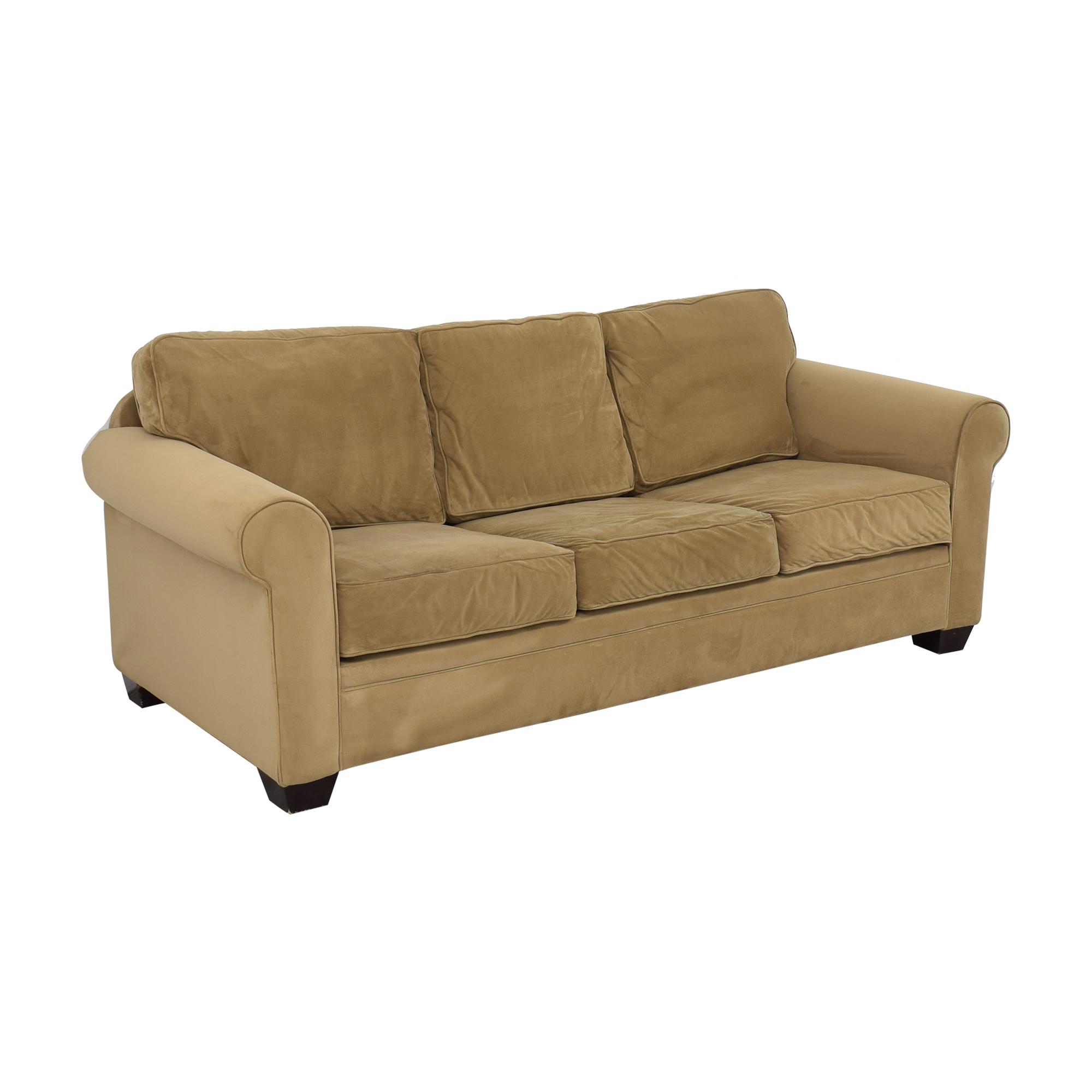 Macy's Macy's Tan Sofa Bed second hand