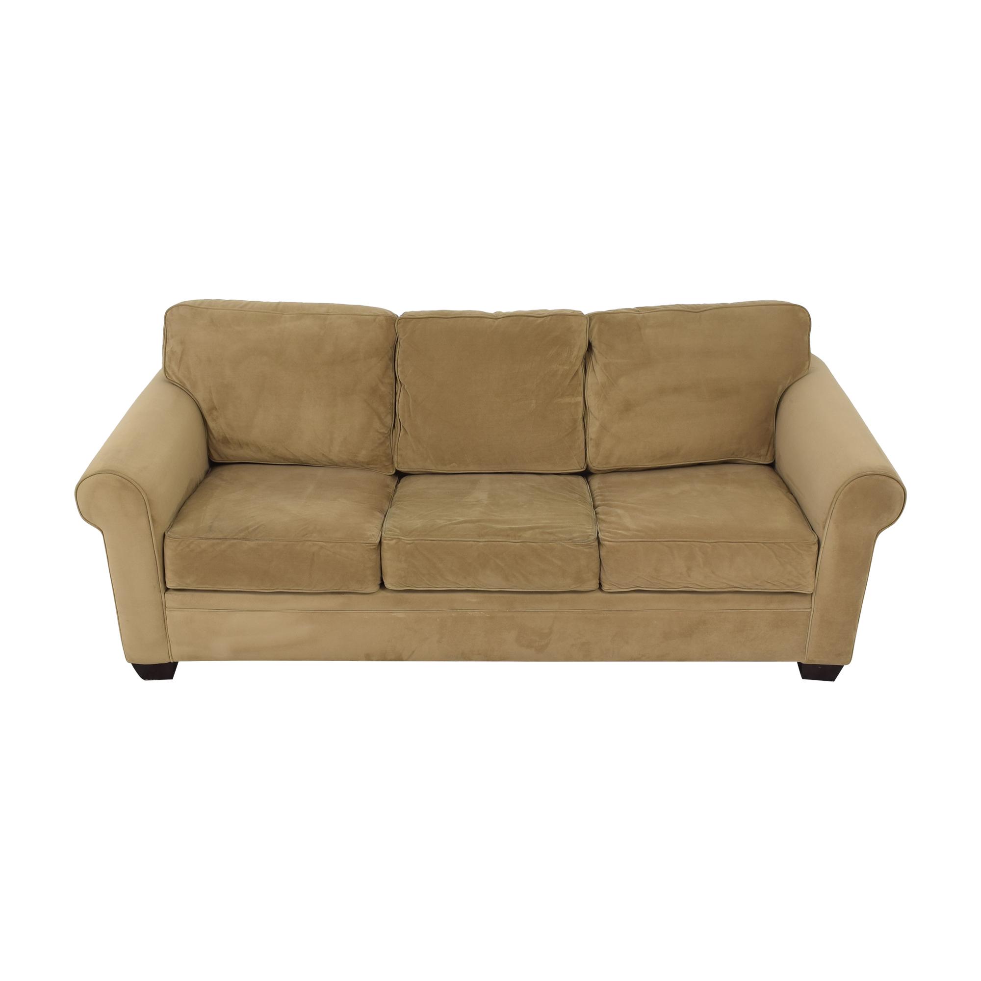 Macy's Macy's Tan Sofa Bed ma