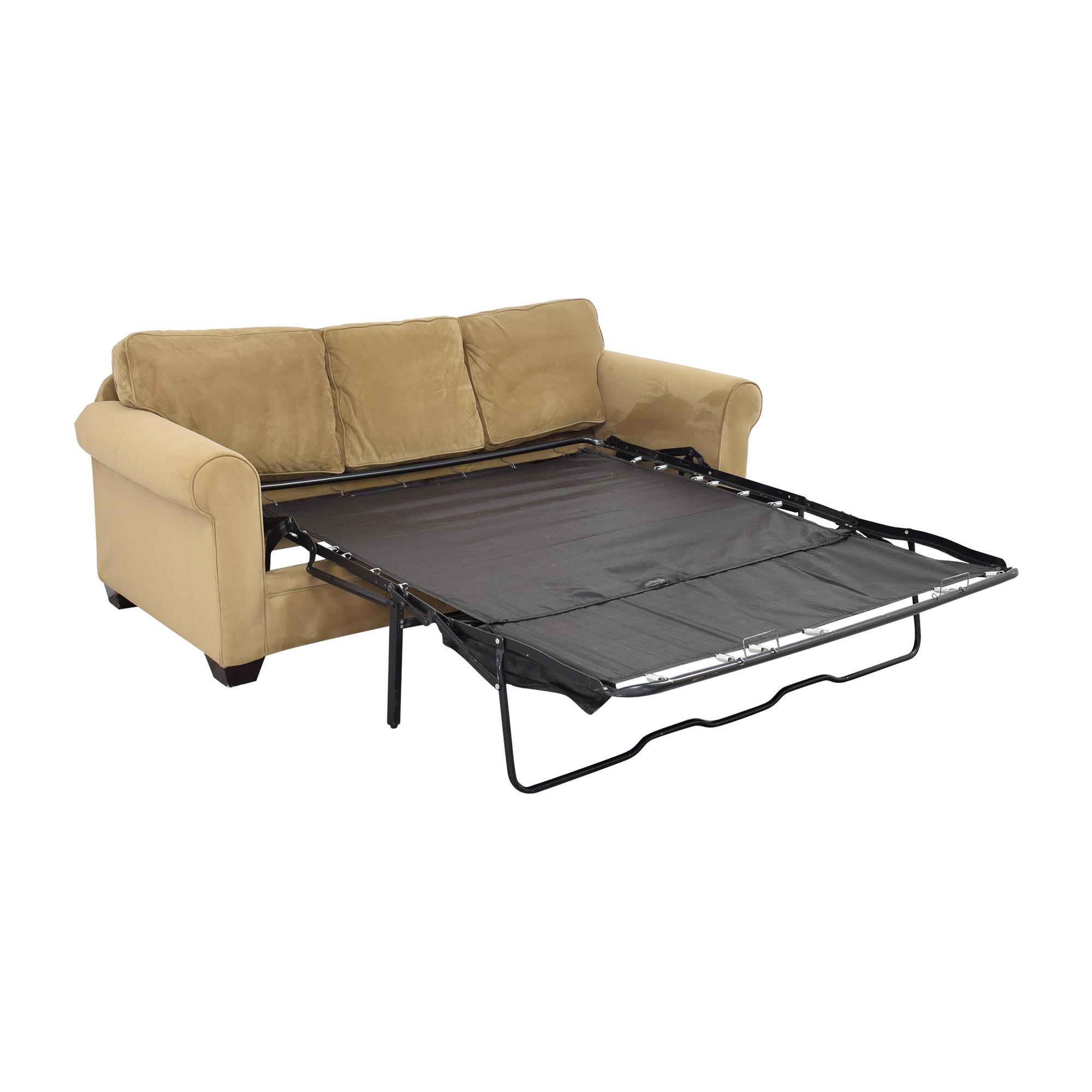 Macy's Macy's Tan Sofa Bed on sale