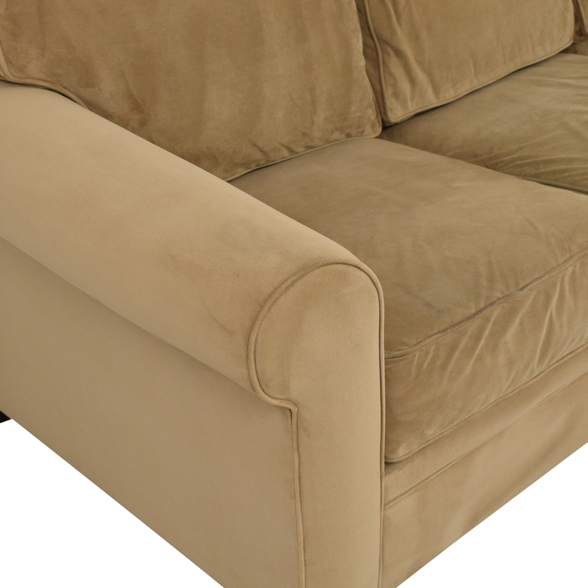 Macy's Macy's Tan Sofa Bed for sale