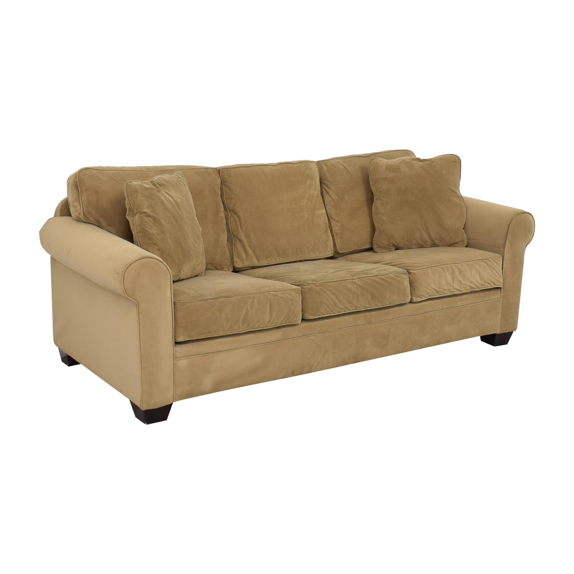 shop Macy's Tan Sofa Bed Macy's