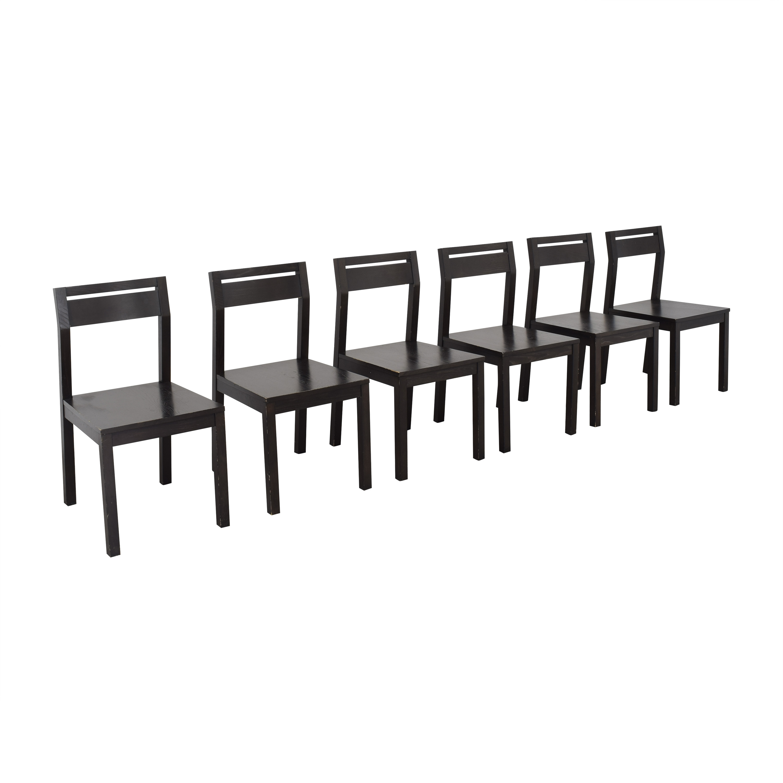 West Elm West Elm Terra Tilt Dining Chairs second hand