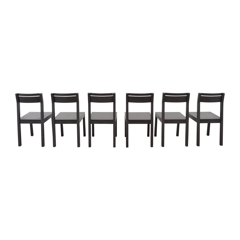 West Elm West Elm Terra Tilt Dining Chairs dimensions