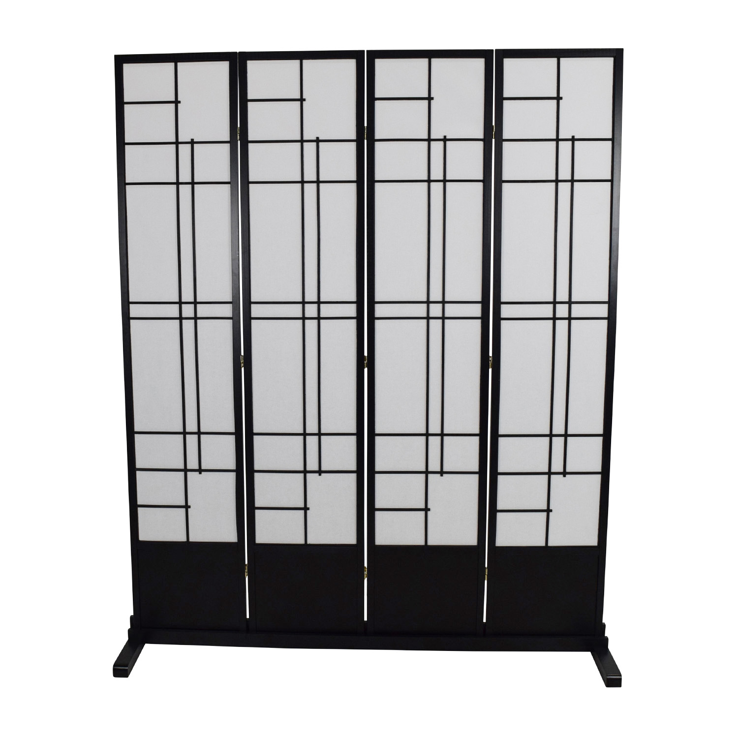Eudes Shoji Eudes Shoji 4 Panel Room Divider Decor