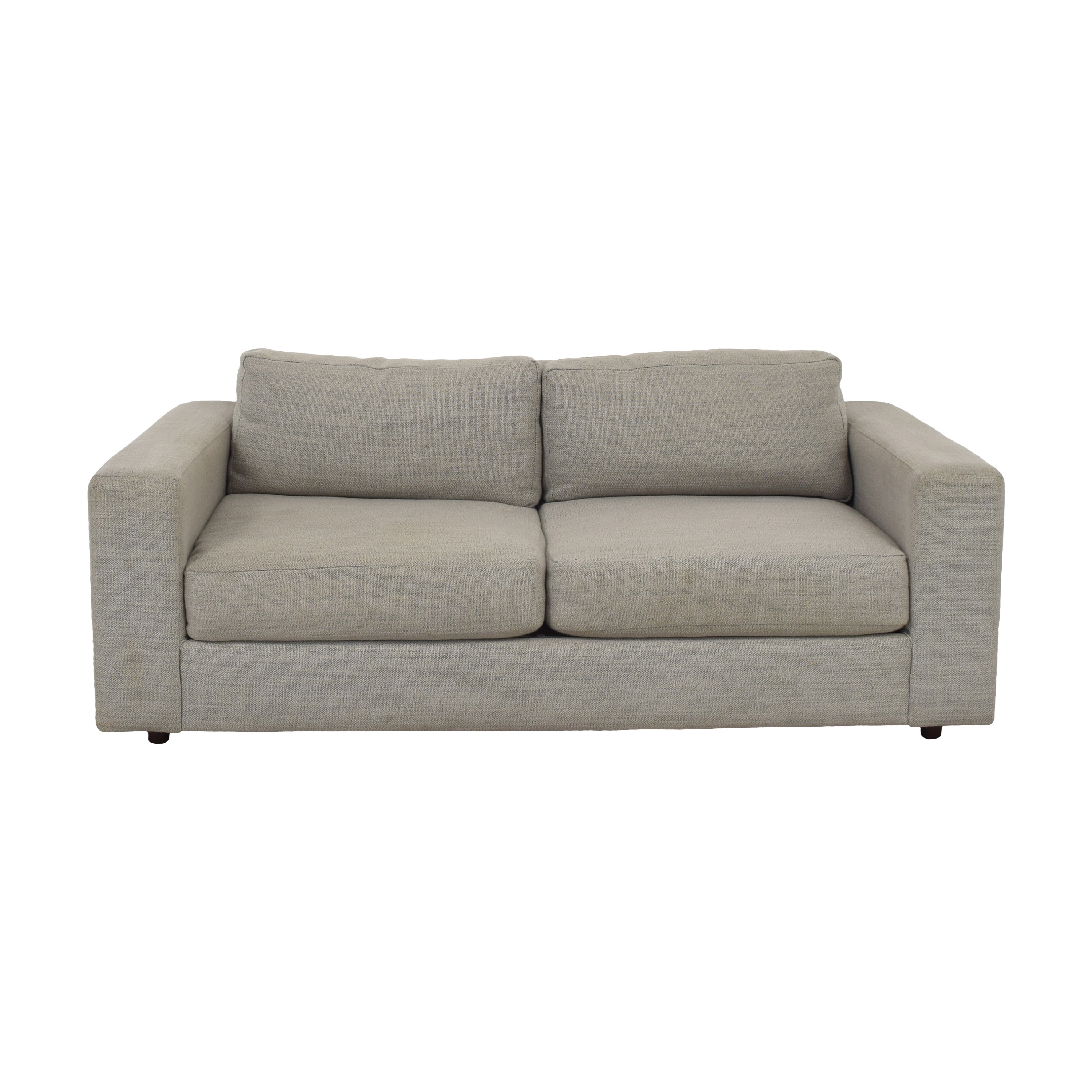 shop West Elm Urban Loveseat West Elm Loveseats