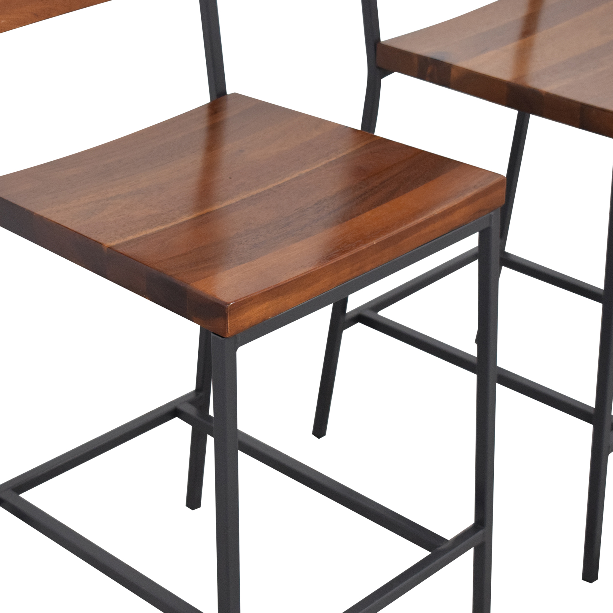 West Elm West Elm Rustic Counter Stools brown