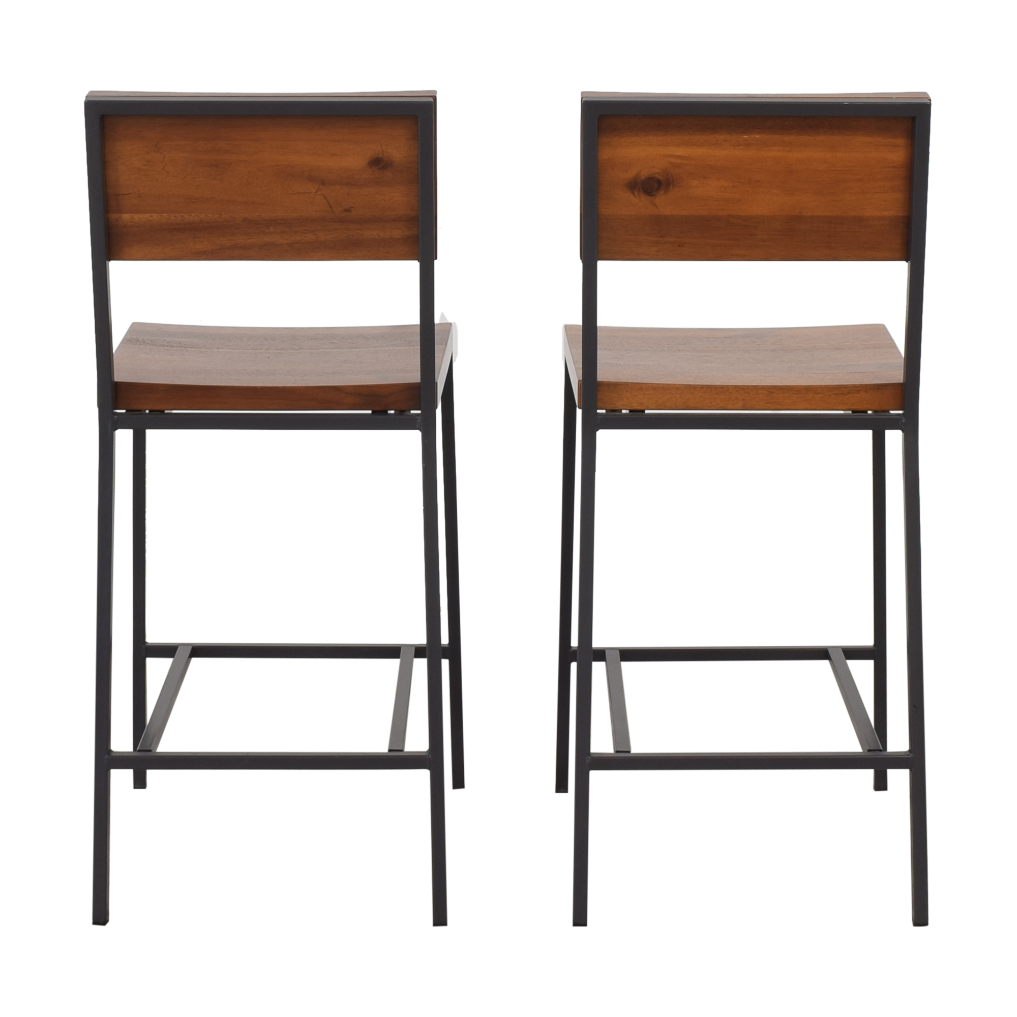 West Elm West Elm Rustic Counter Stools