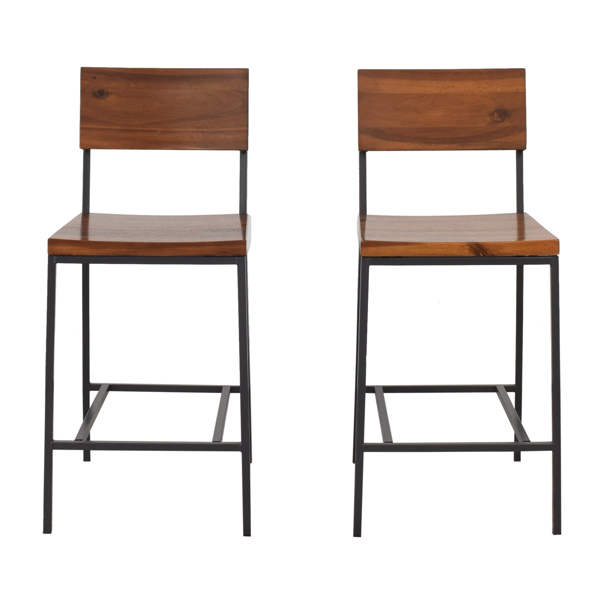 West Elm West Elm Rustic Counter Stools ct