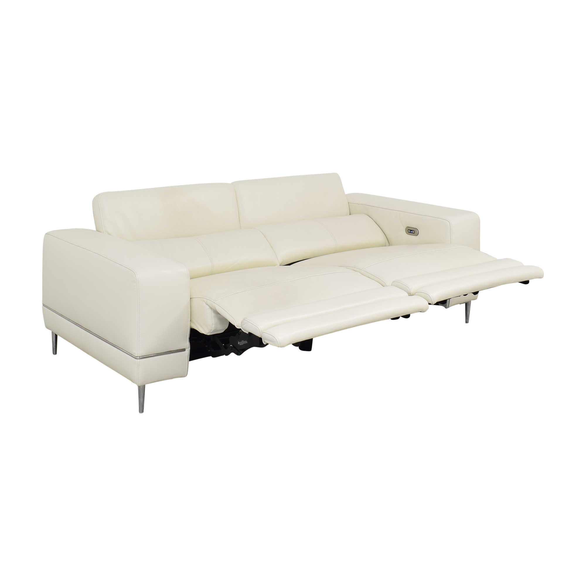 Modani Modani Bergamo Motion Sofa White nyc