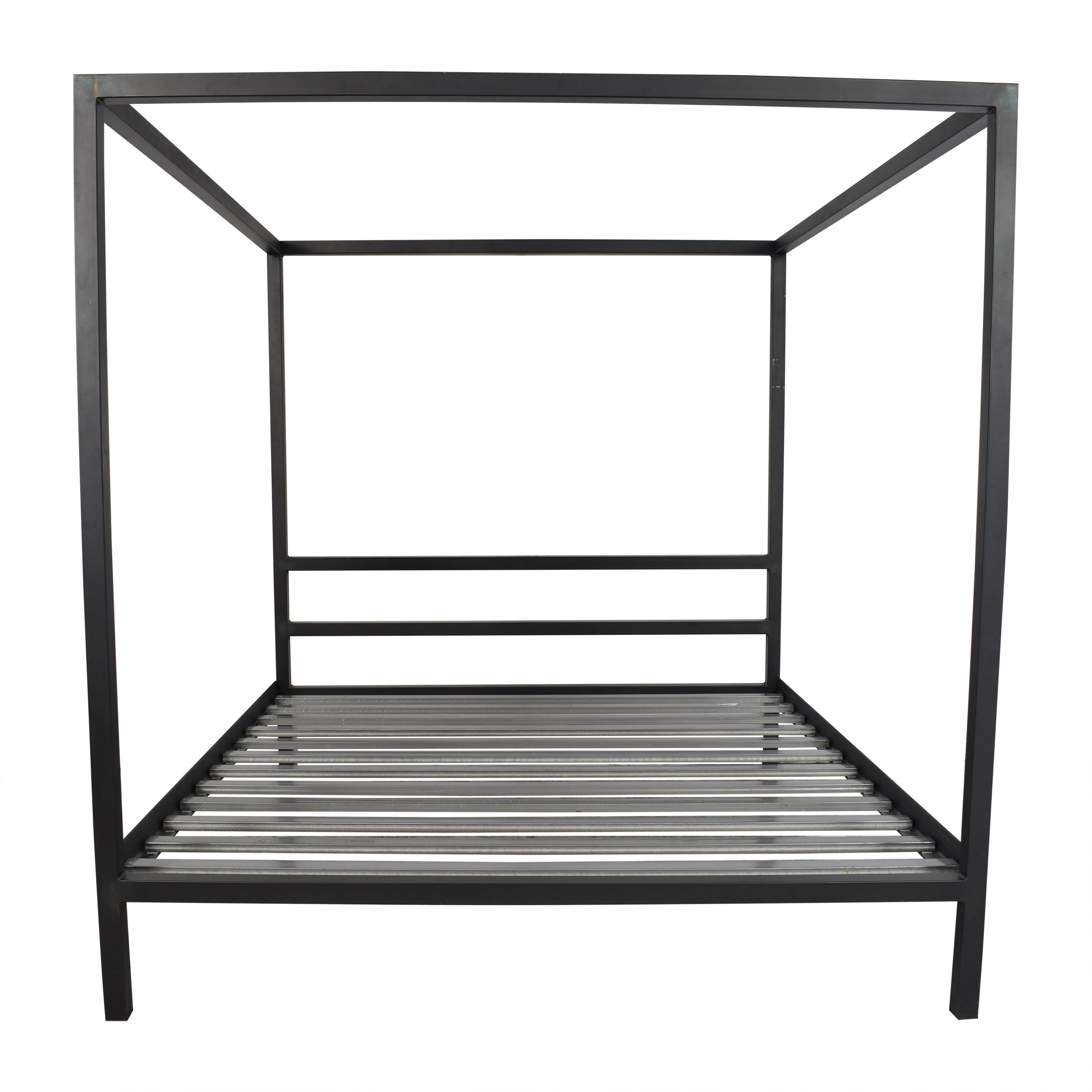 Room & Board Room & Board Architecture Canopy King Bed Frame second hand