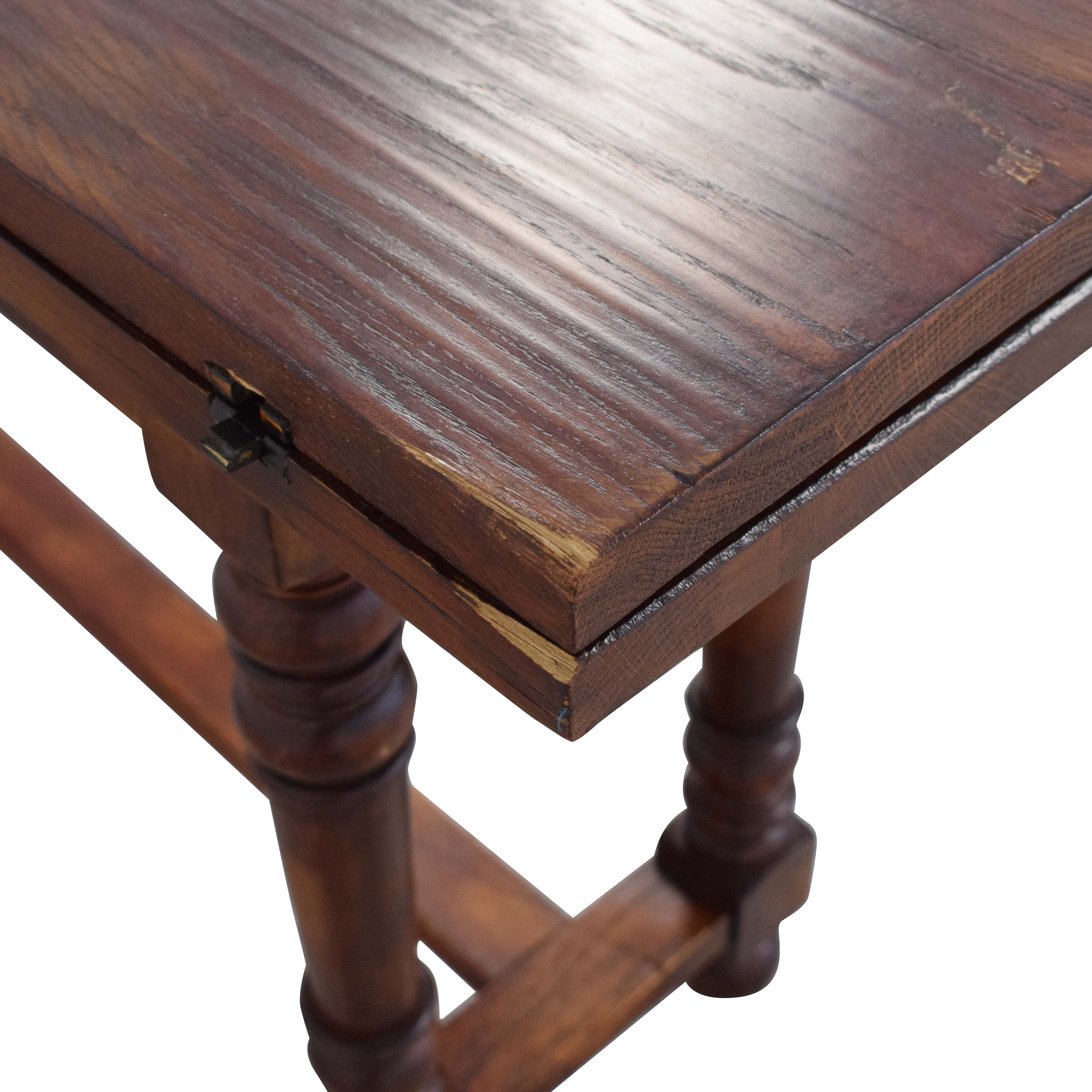A&B Home Vintage Foldable Dining Table sale