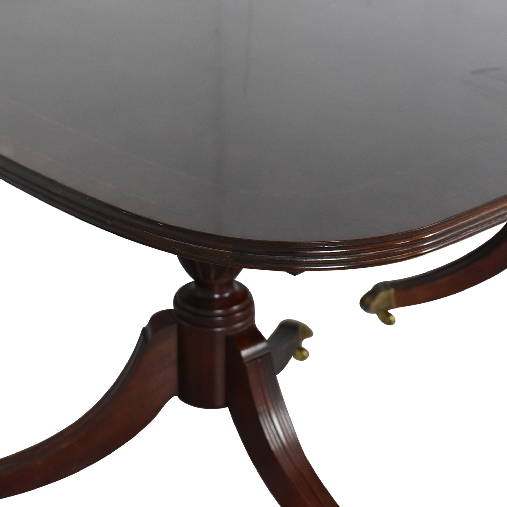 shop Thomasville Figural Duncan Phyfe-Style Dining Room Table Thomasville