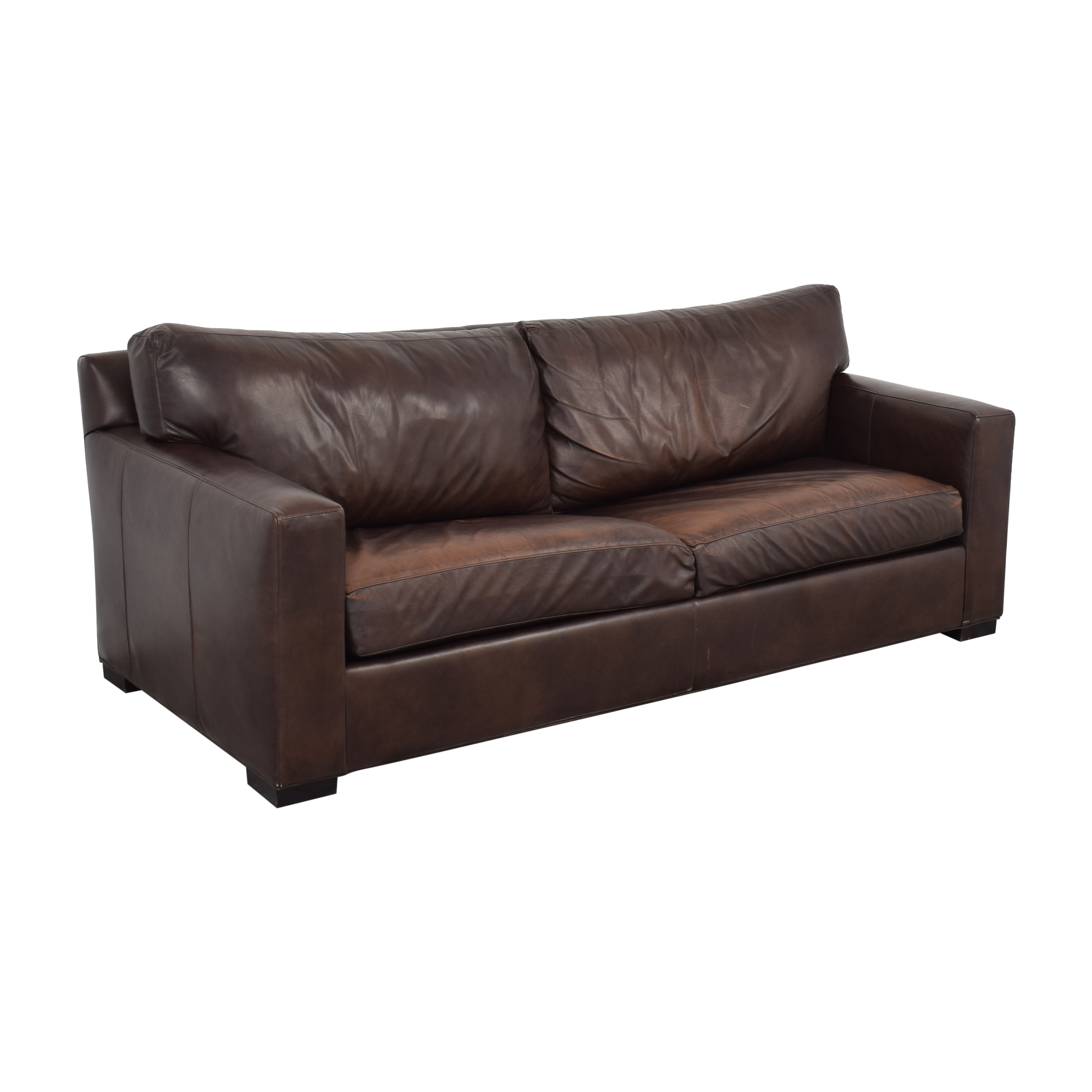 Crate & Barrel Crate & Barrel Axis II Leather Two Seat Queen Sleeper Sofa used