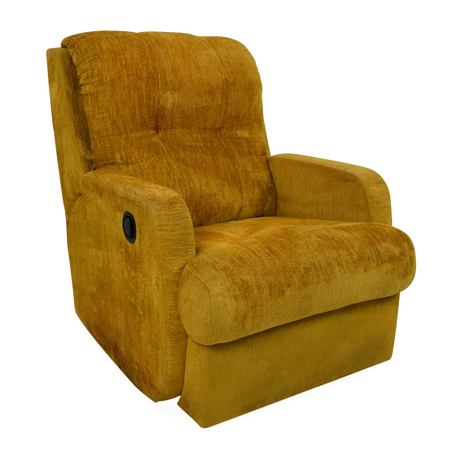 75% OFF Unknown Brand Yellow Recliner Chair Chairs