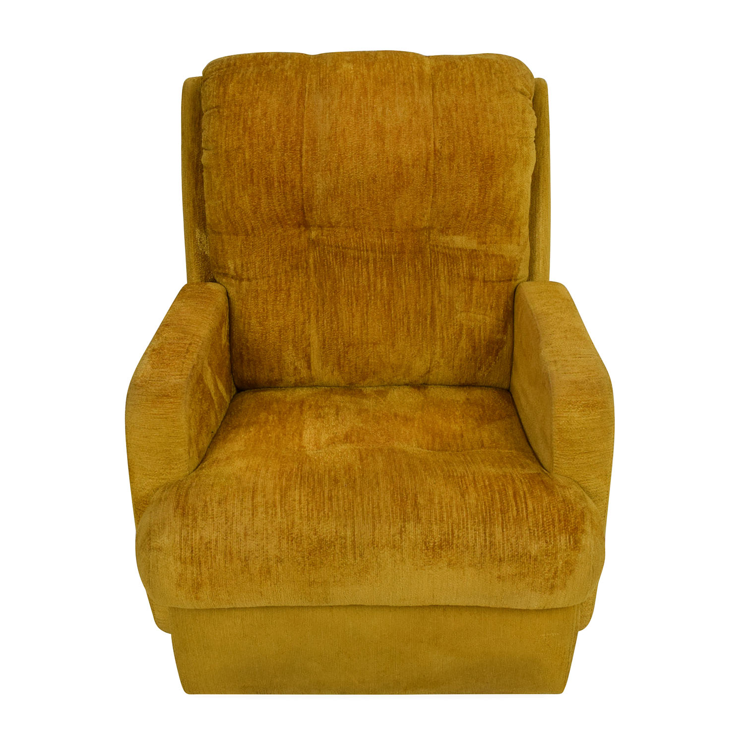 Unknown Brand Yellow Recliner Chair Sofas