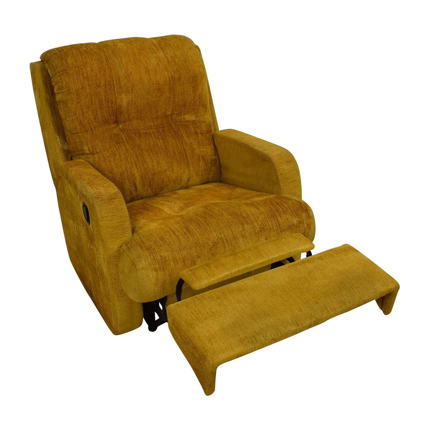 Delicieux ... Unknown Brand Yellow Recliner Chair On Sale ...