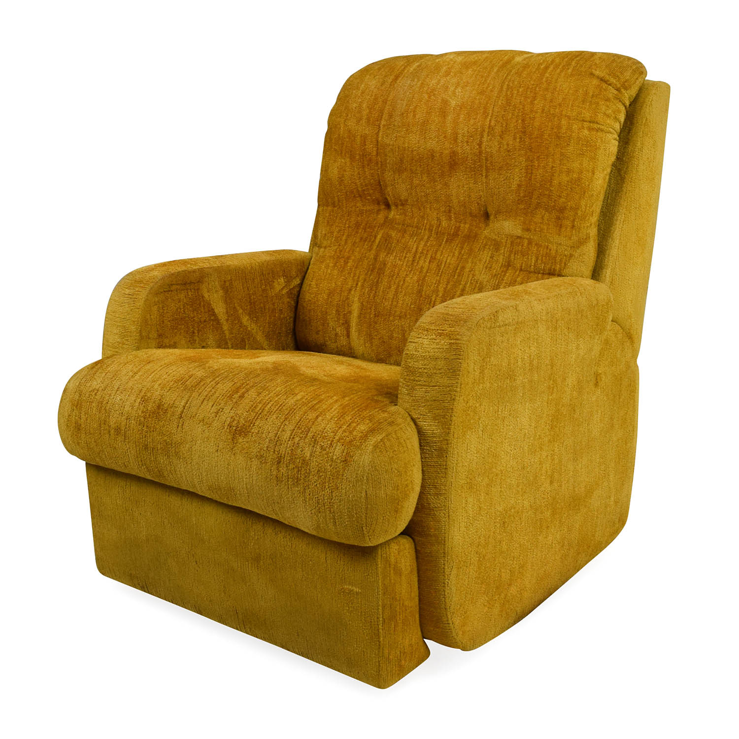 ... Unknown Brand Yellow Recliner Chair Nj ...