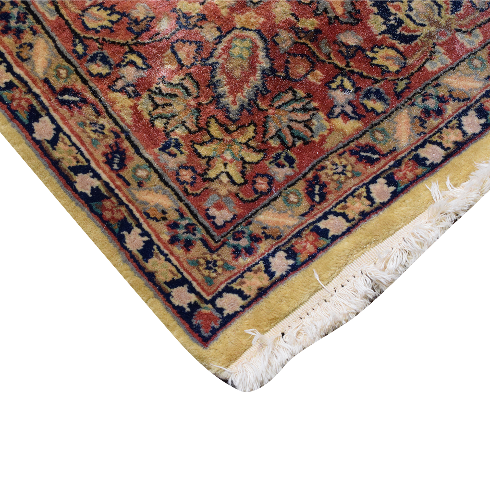Floral Persian Rug used