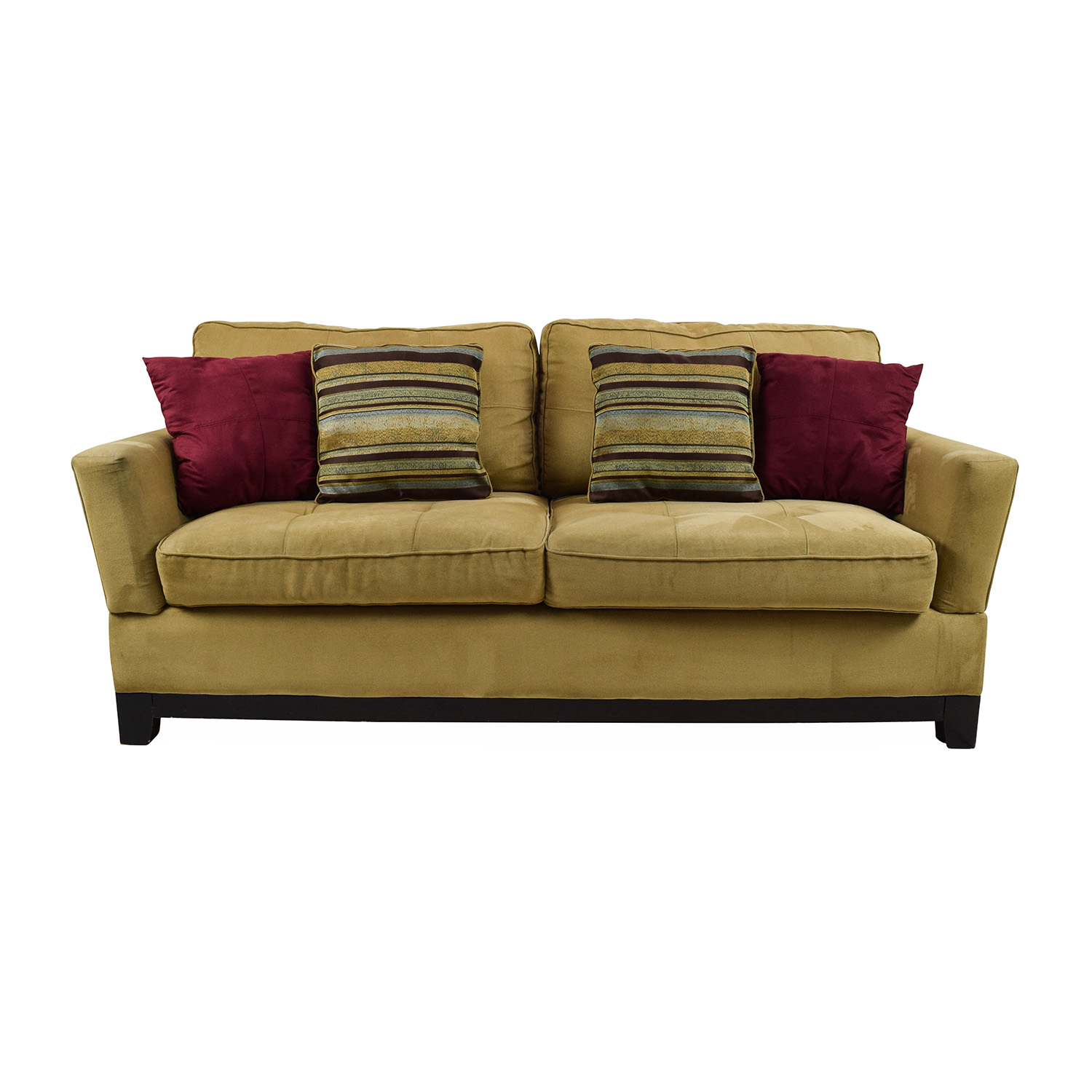 78 off jennifer convertibles jennifer convertibles tan for Classic loveseat