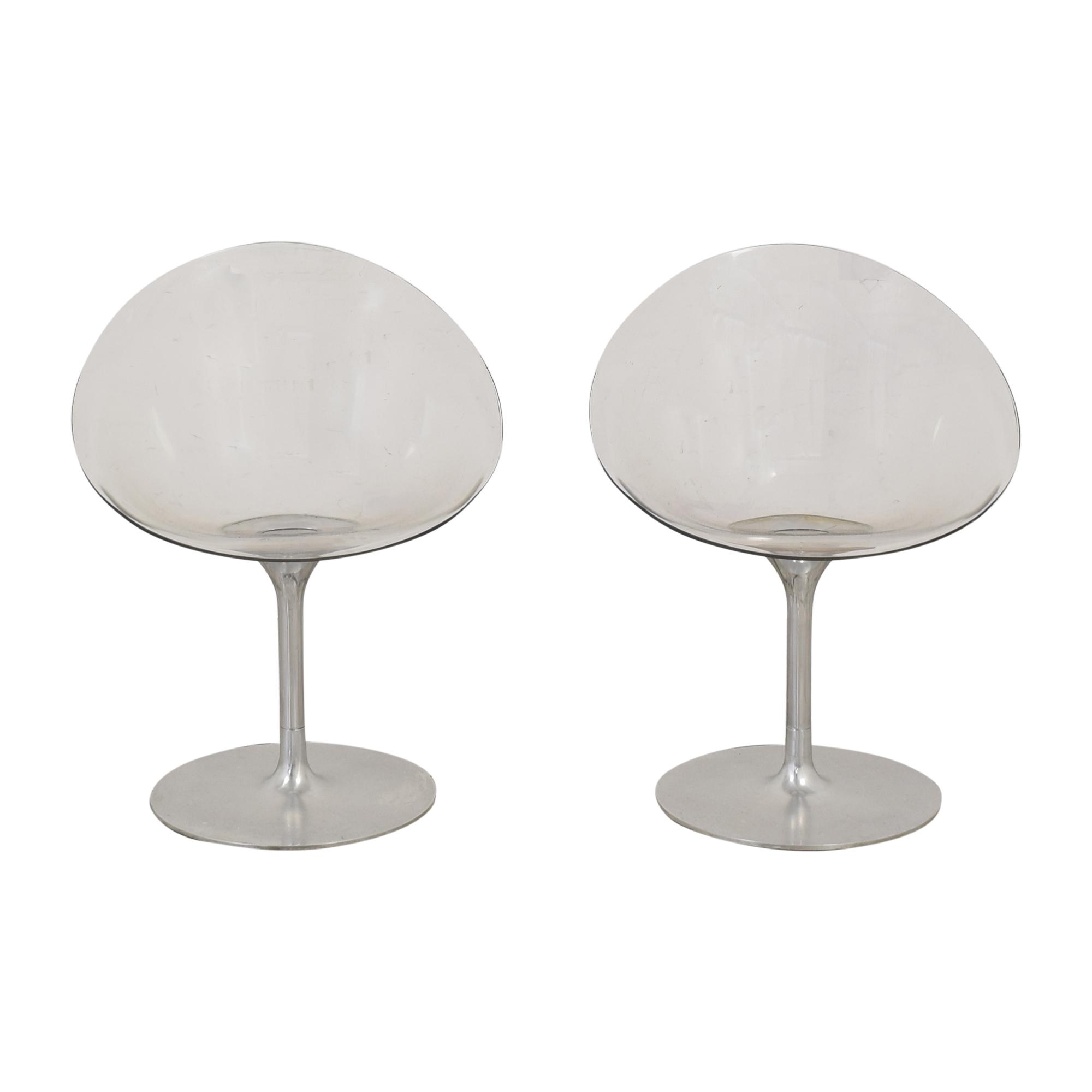shop Kartell by Philippe Starck Ero s  Swivel Chairs Kartell