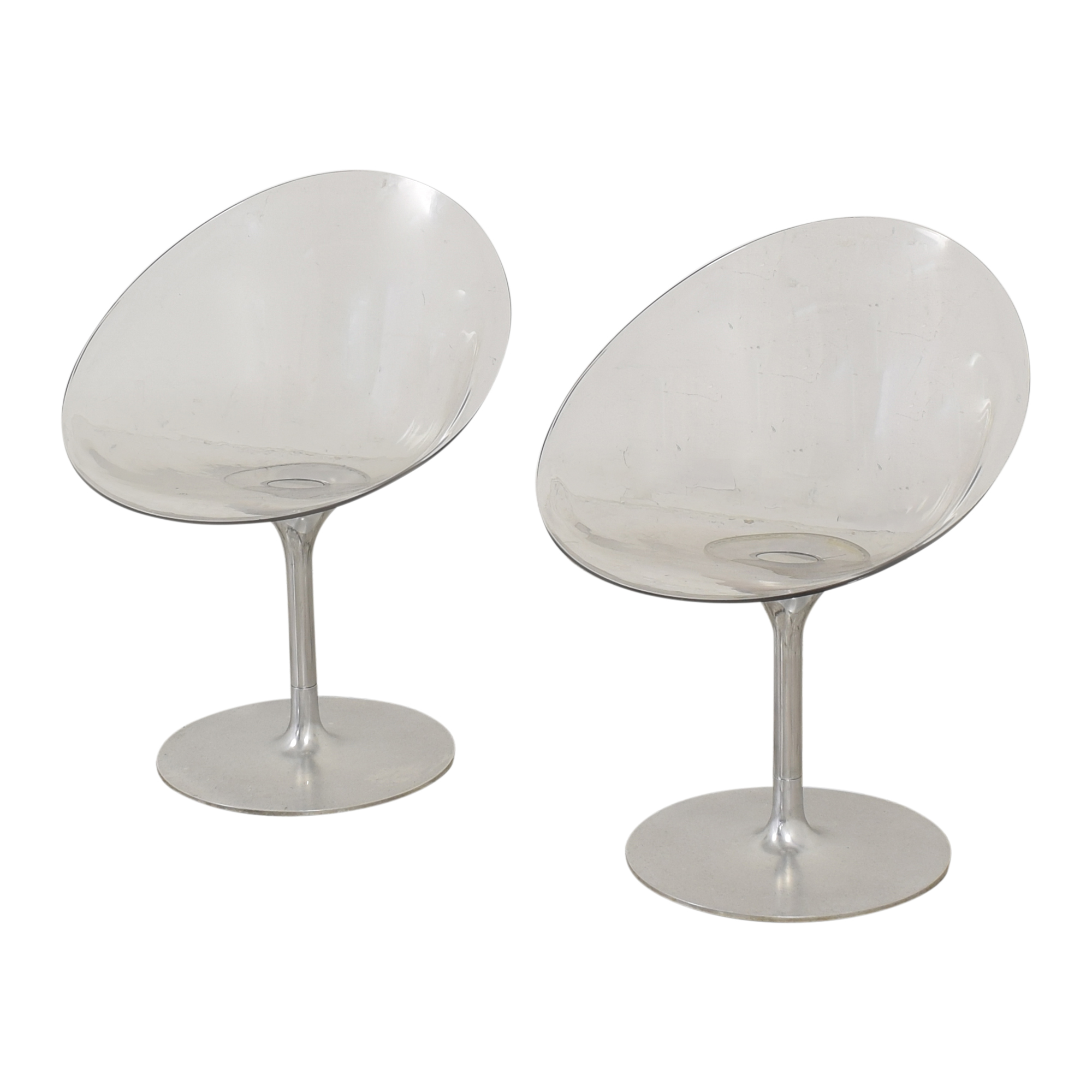 Kartell Kartell by Philippe Starck Ero s  Swivel Chairs dimensions