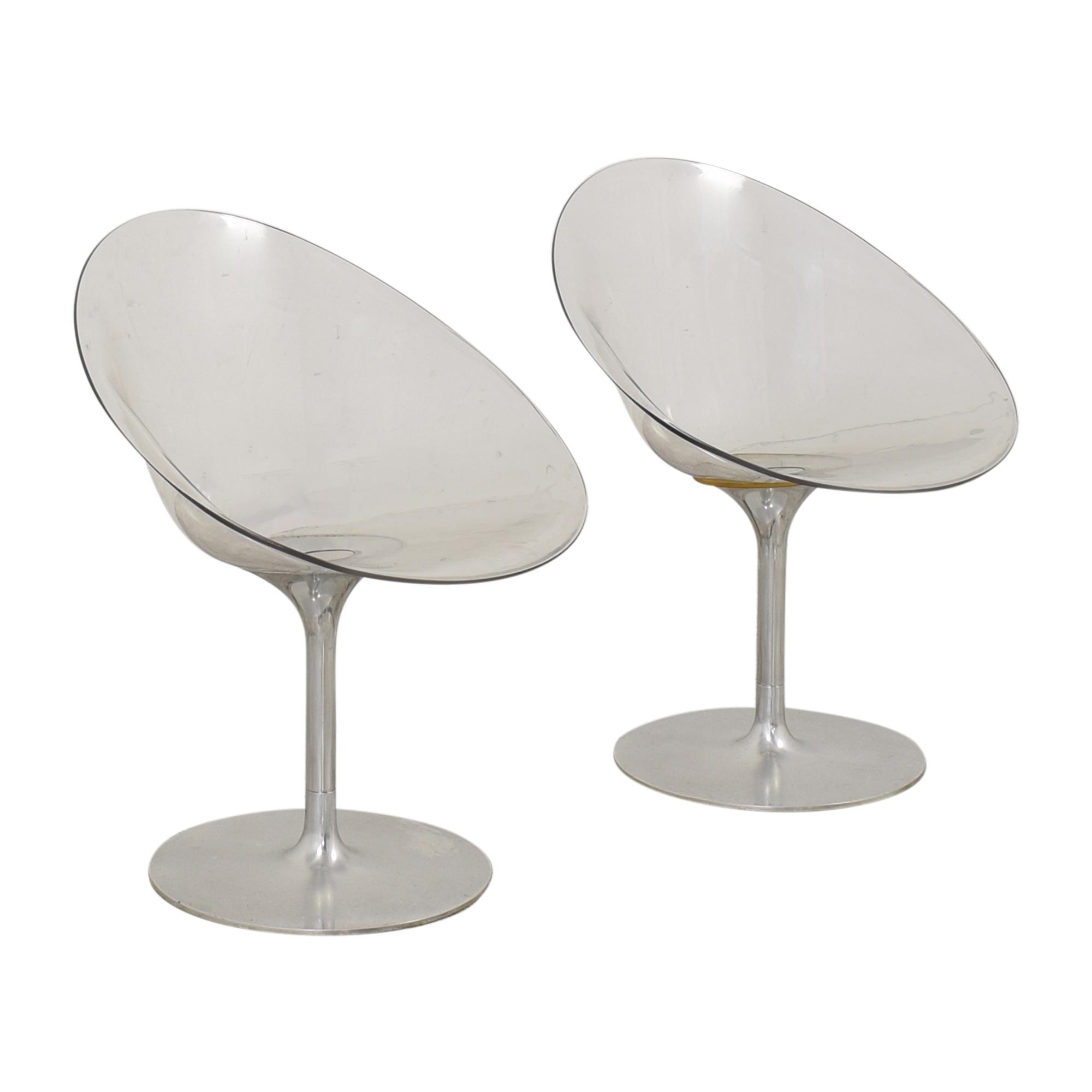 Kartell Kartell by Philippe Starck Ero s  Swivel Chairs