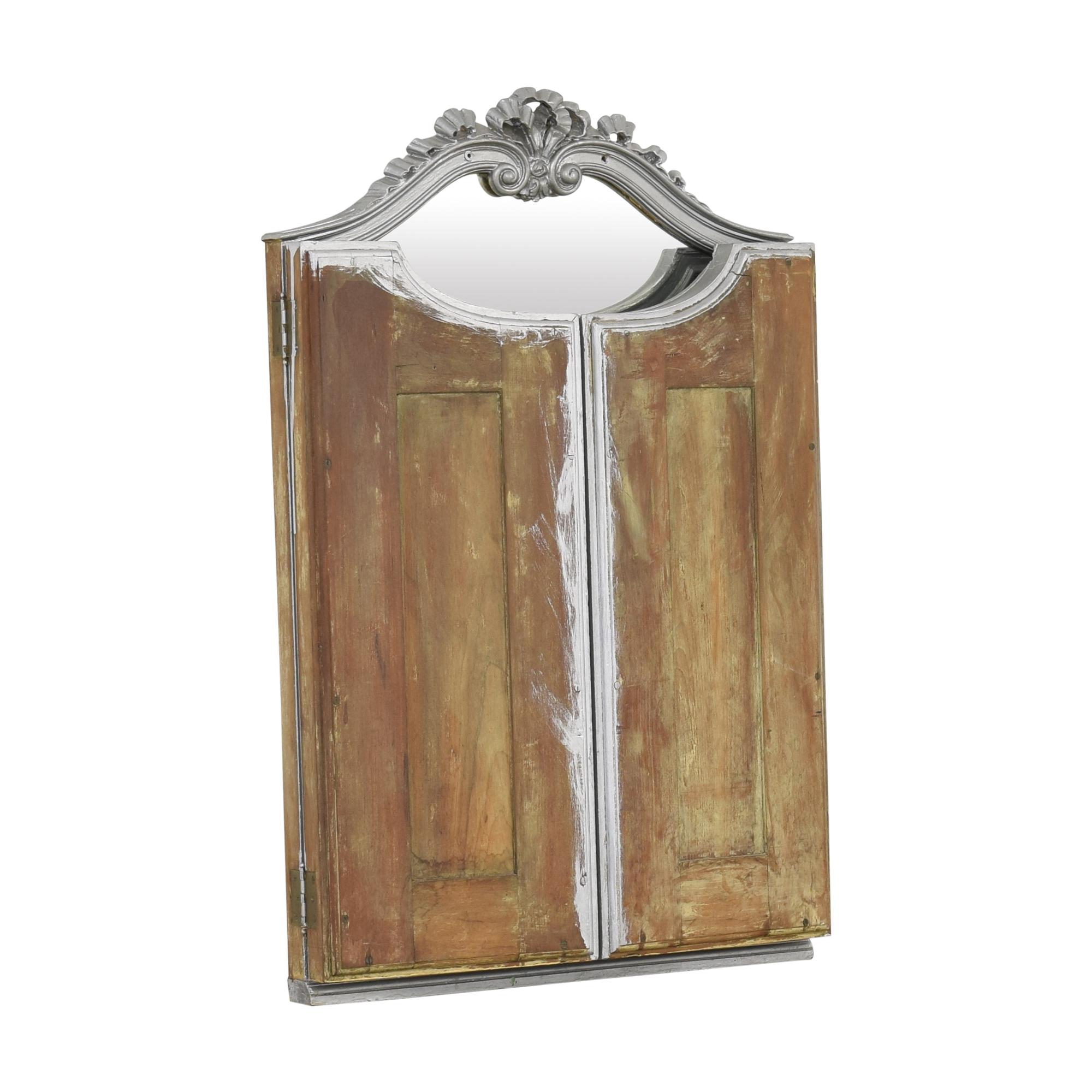 Vintage Tri-Fold Mirror / Mirrors