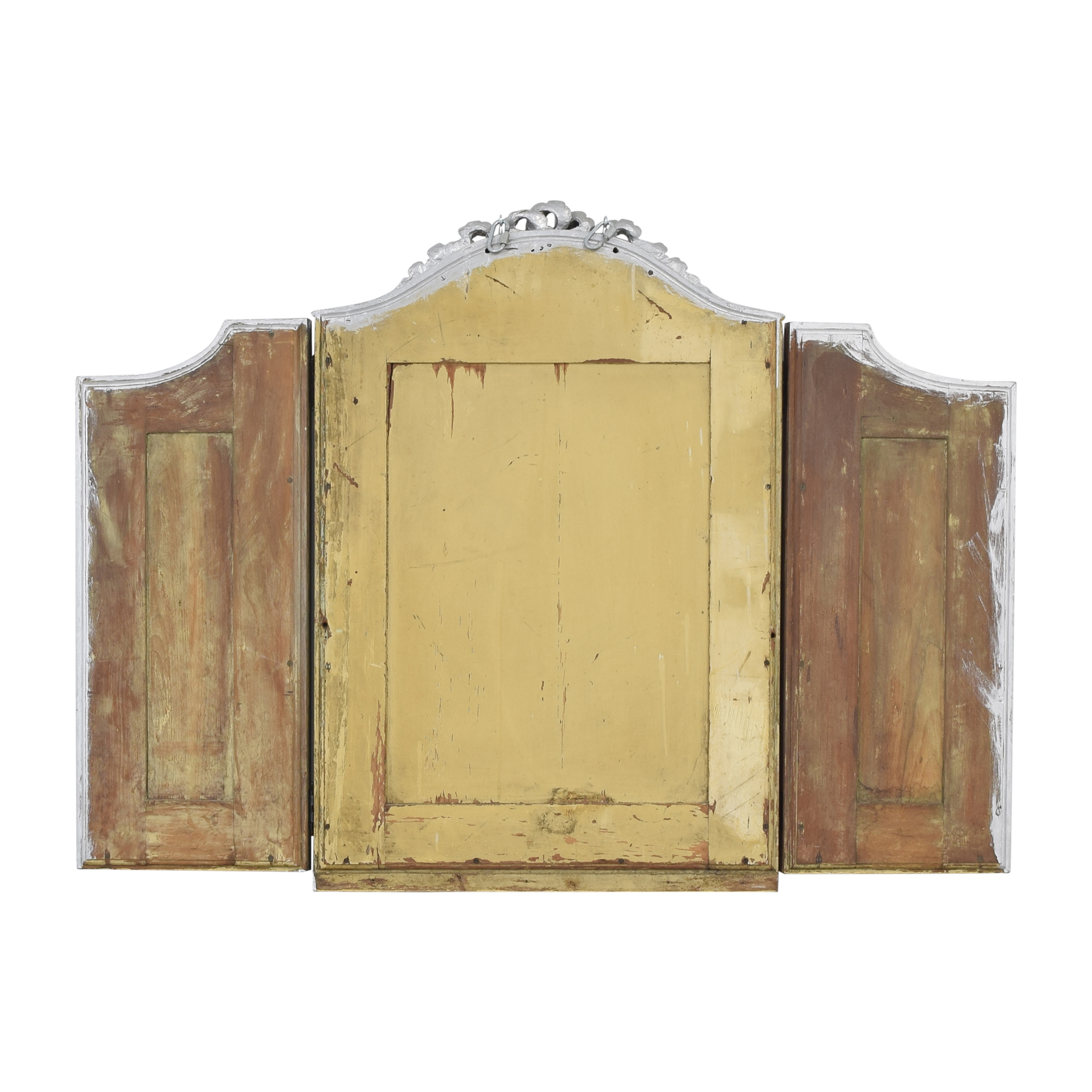 shop Vintage Tri-Fold Mirror