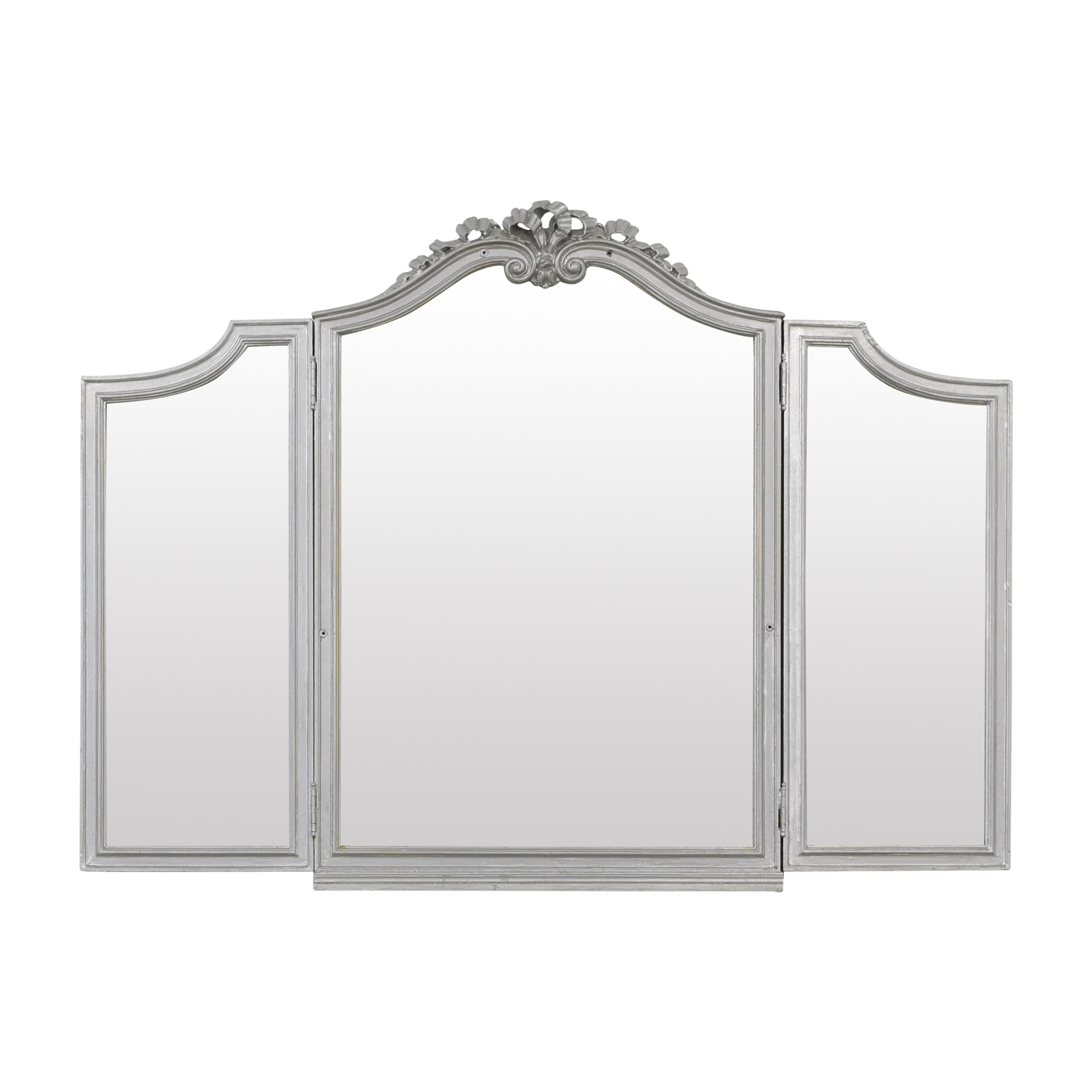 shop Vintage Tri-Fold Mirror  Decor