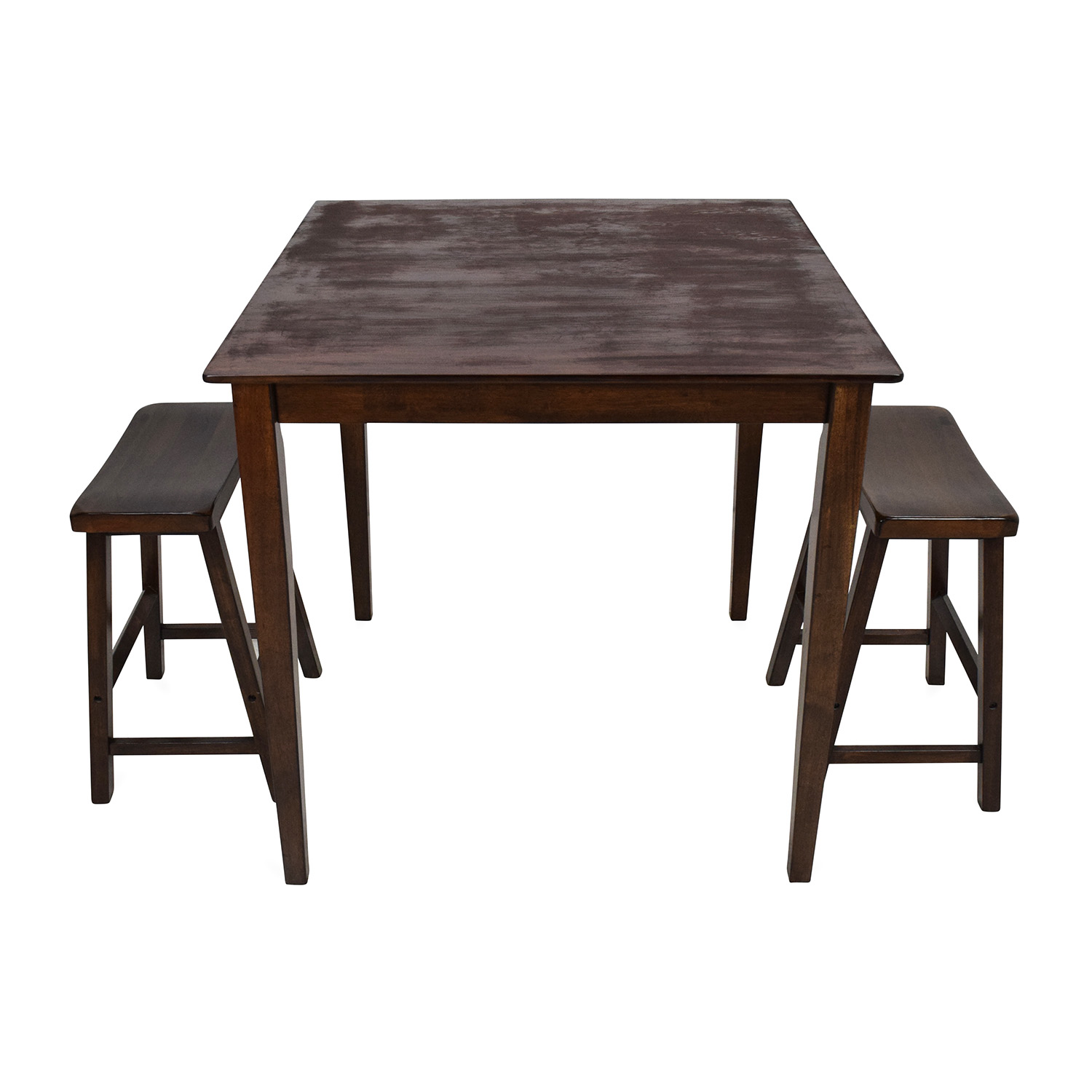 75% OFF Tall Extendable Dining Room Table Set Tables