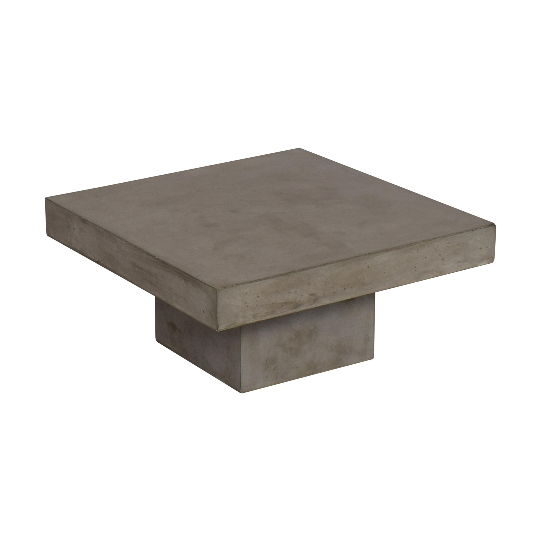 shop CB2 CB2 Element Cement Coffee Table online