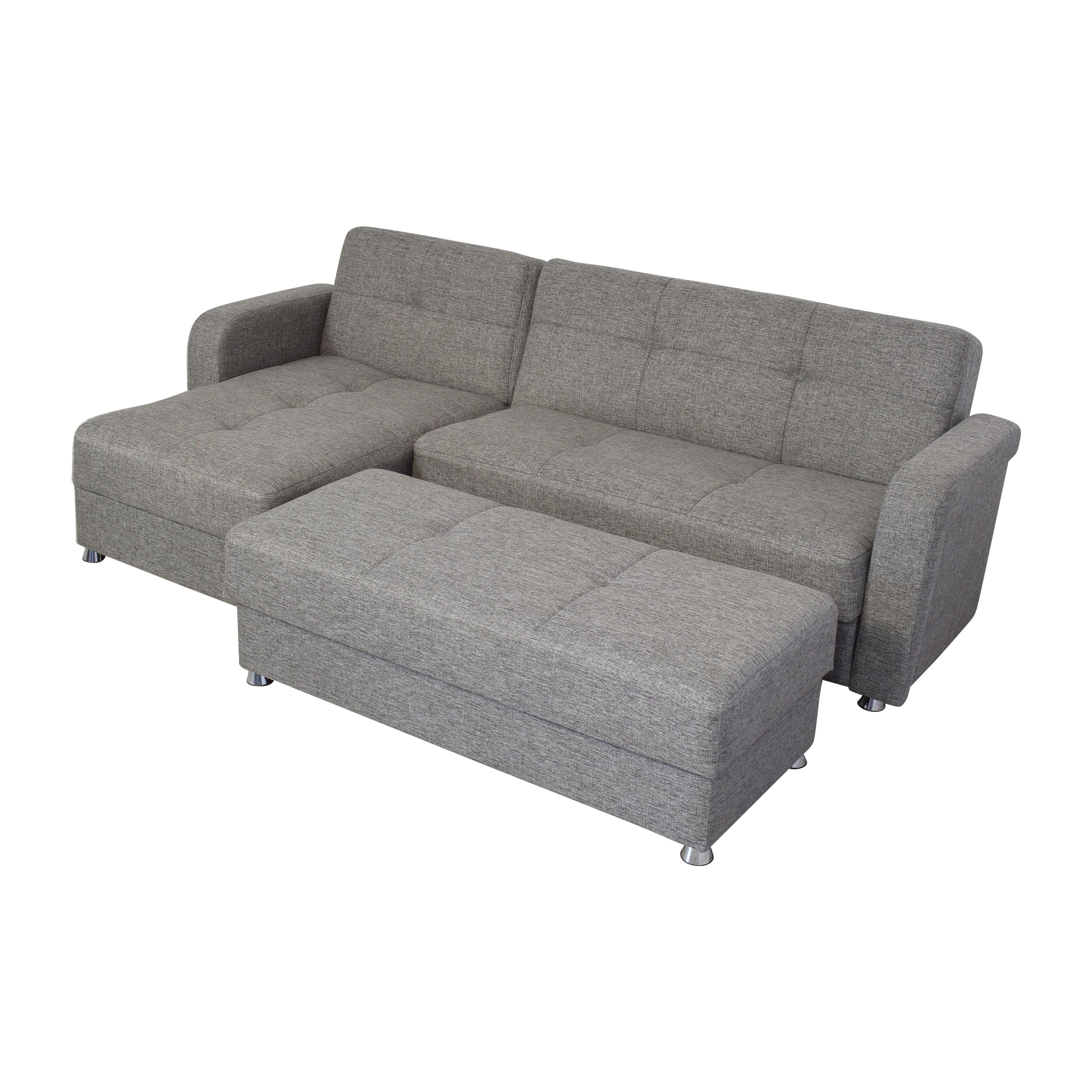 buy Istikbal Vision Diego Sectional Sofa and Ottoman Istikbal