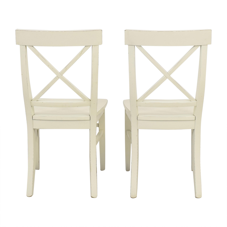 Pottery Barn Pottery Barn Aaron Dining Chairs nyc