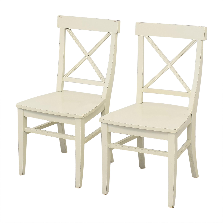 Pottery Barn Pottery Barn Aaron Dining Chairs ma
