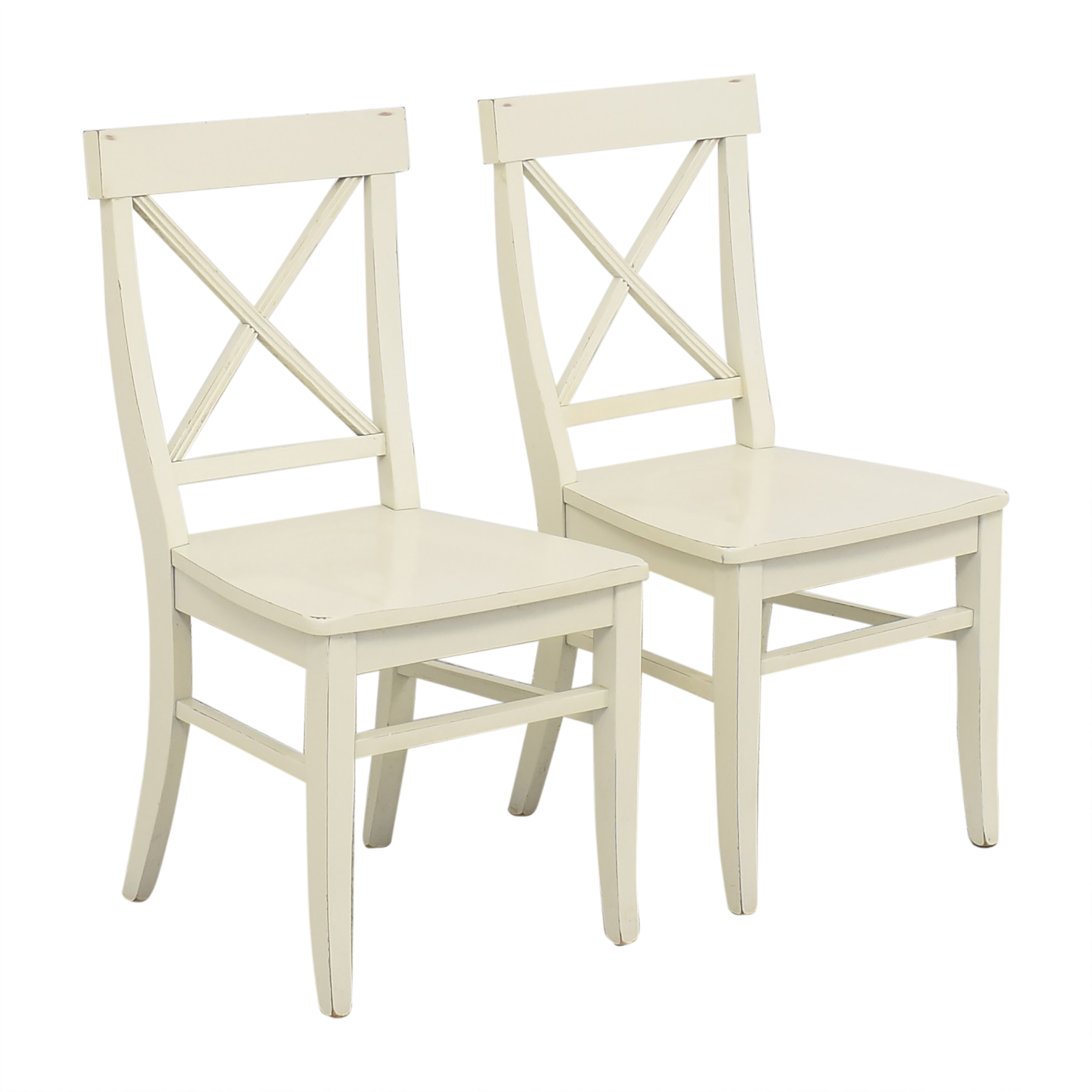 Pottery Barn Pottery Barn Aaron Dining Chairs discount