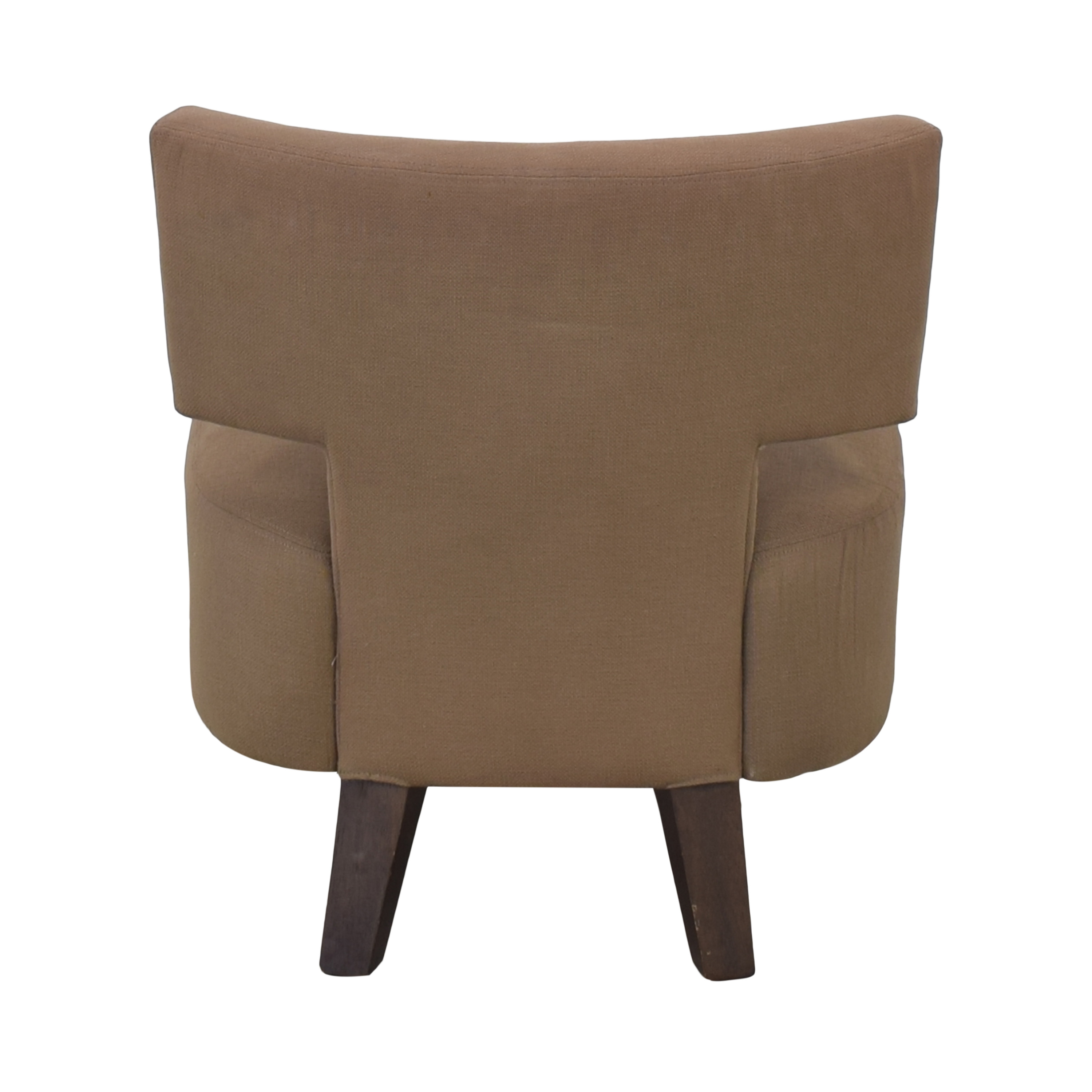 West Elm Geometric Lounge Chair / Accent Chairs