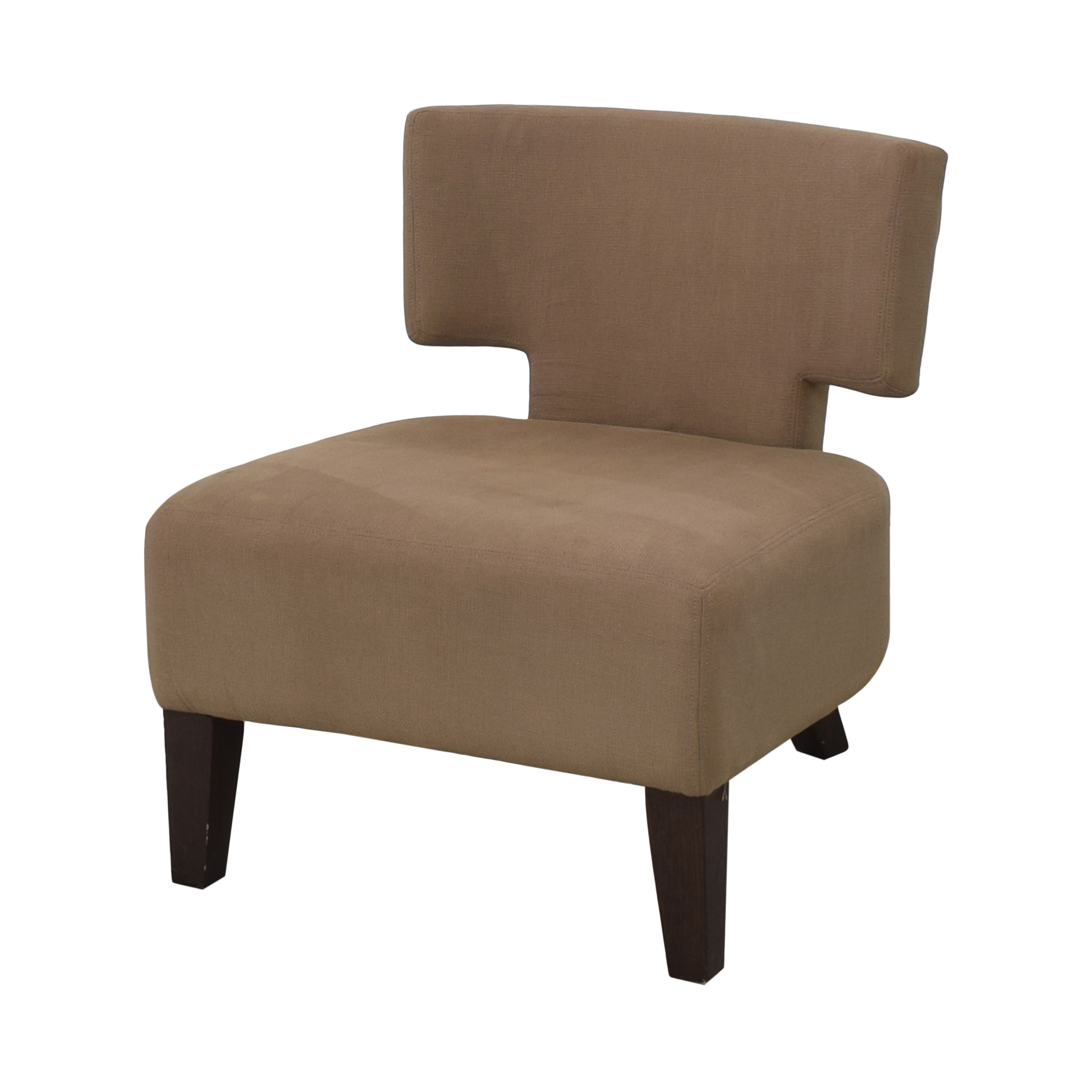 West Elm West Elm Geometric Lounge Chair for sale