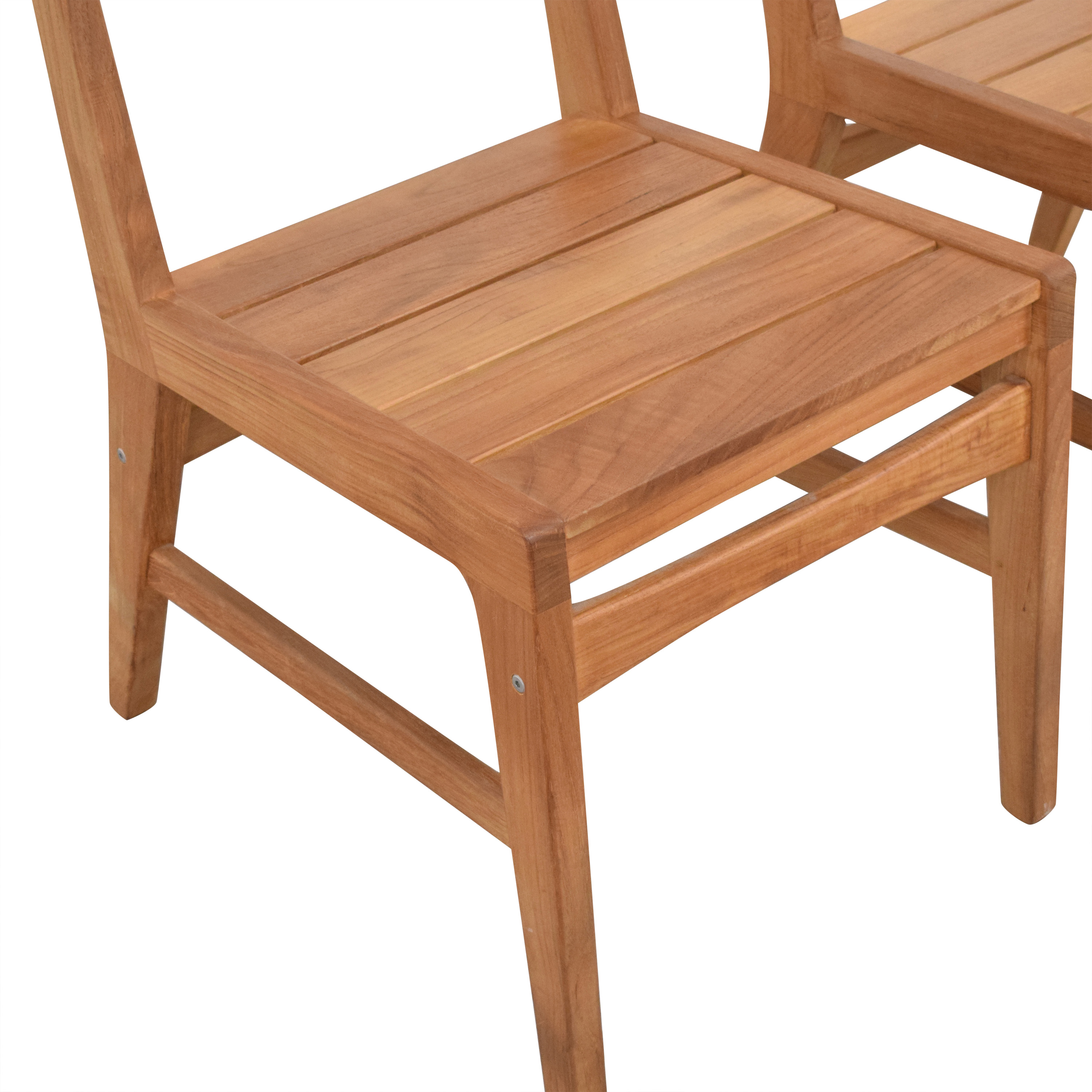 West Elm Mid-Century Outdoor Dining Chairs West Elm