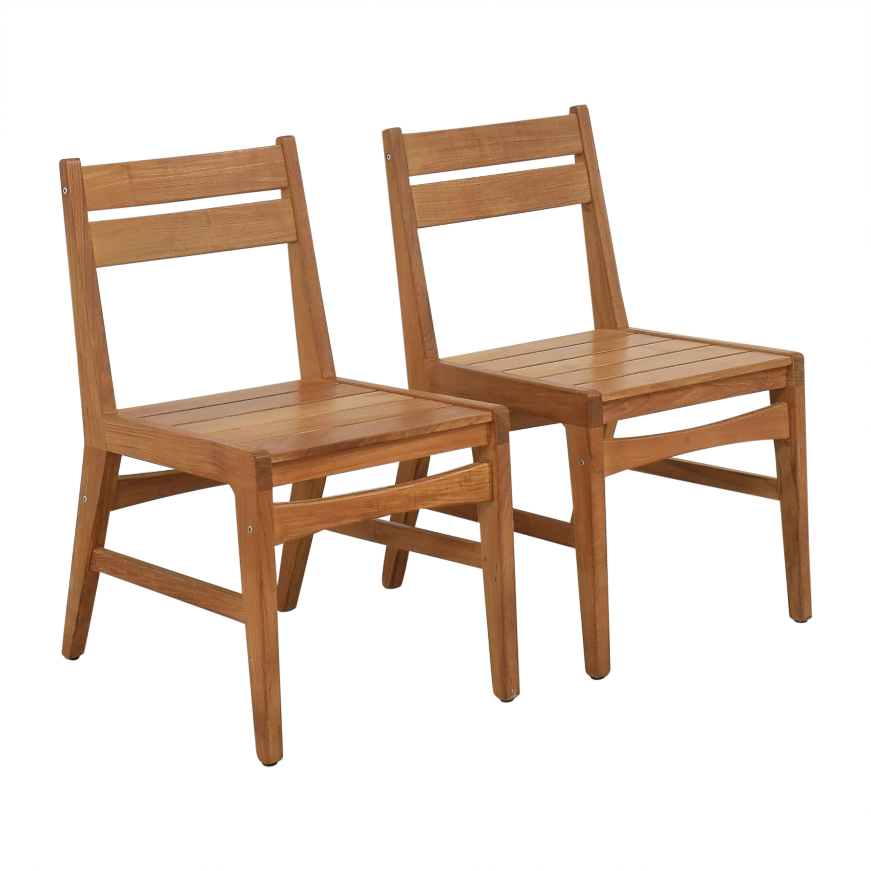 West Elm West Elm Mid-Century Outdoor Dining Chairs discount