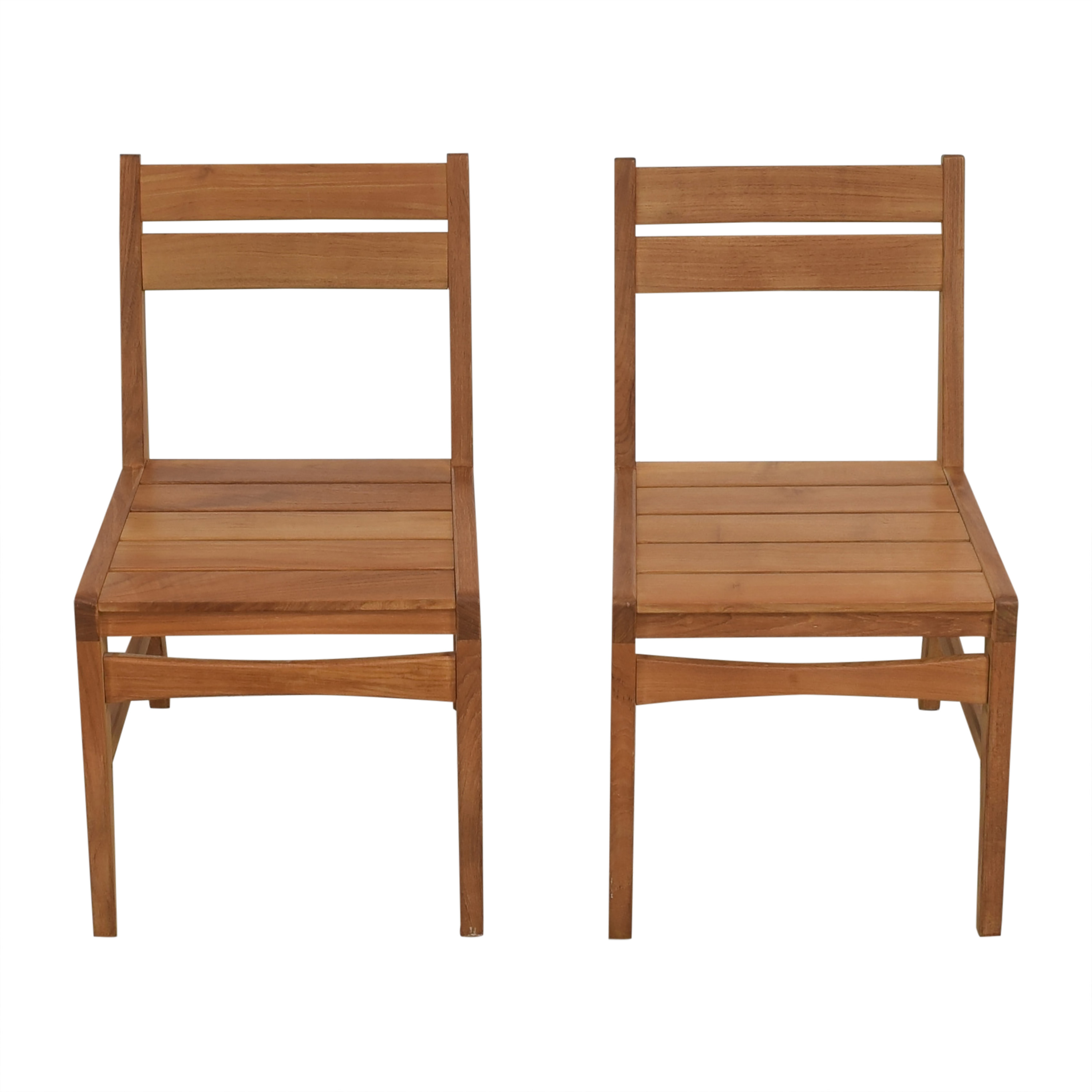 West Elm West Elm Mid-Century Outdoor Dining Chairs for sale
